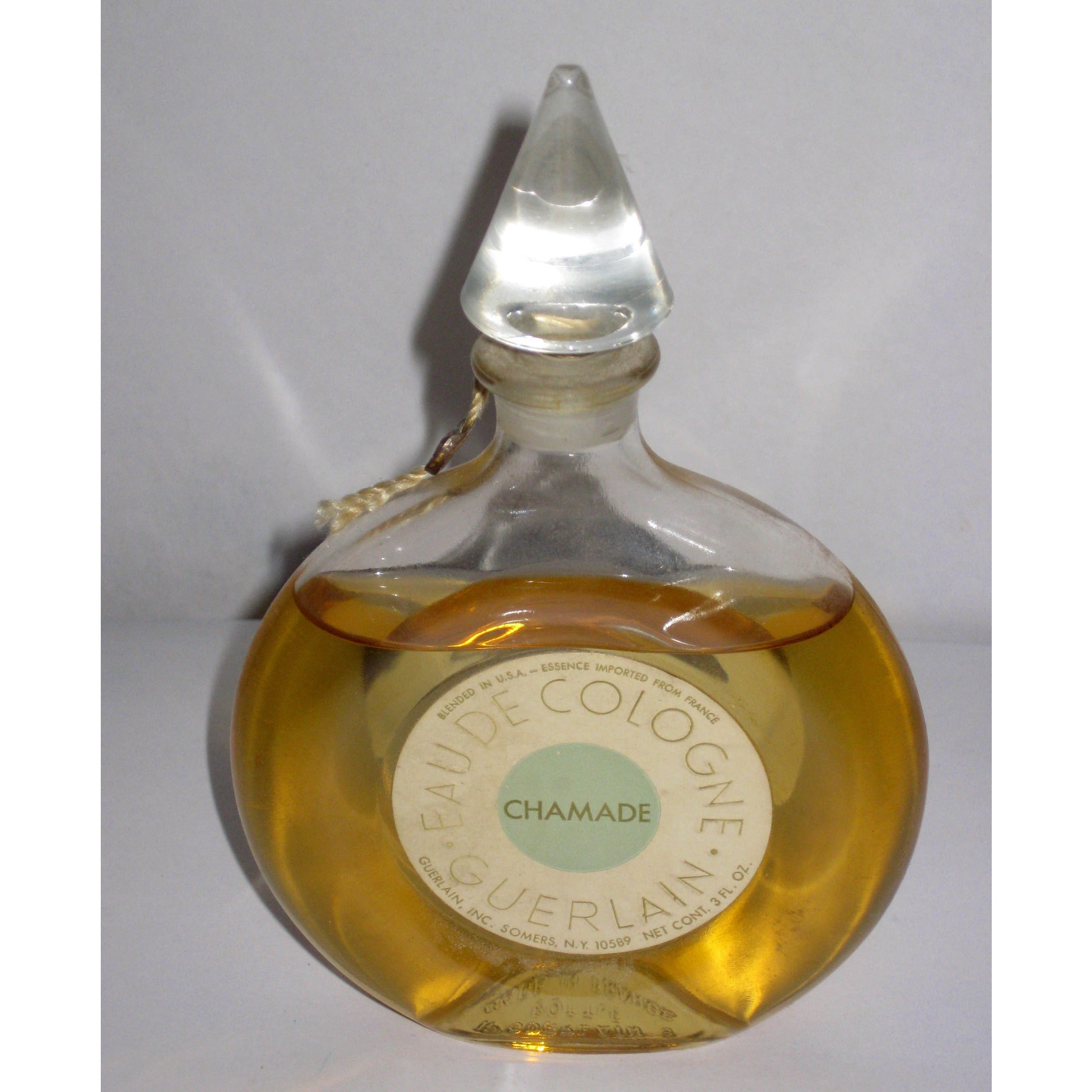 Vintage Guerlain Chamade Cologne