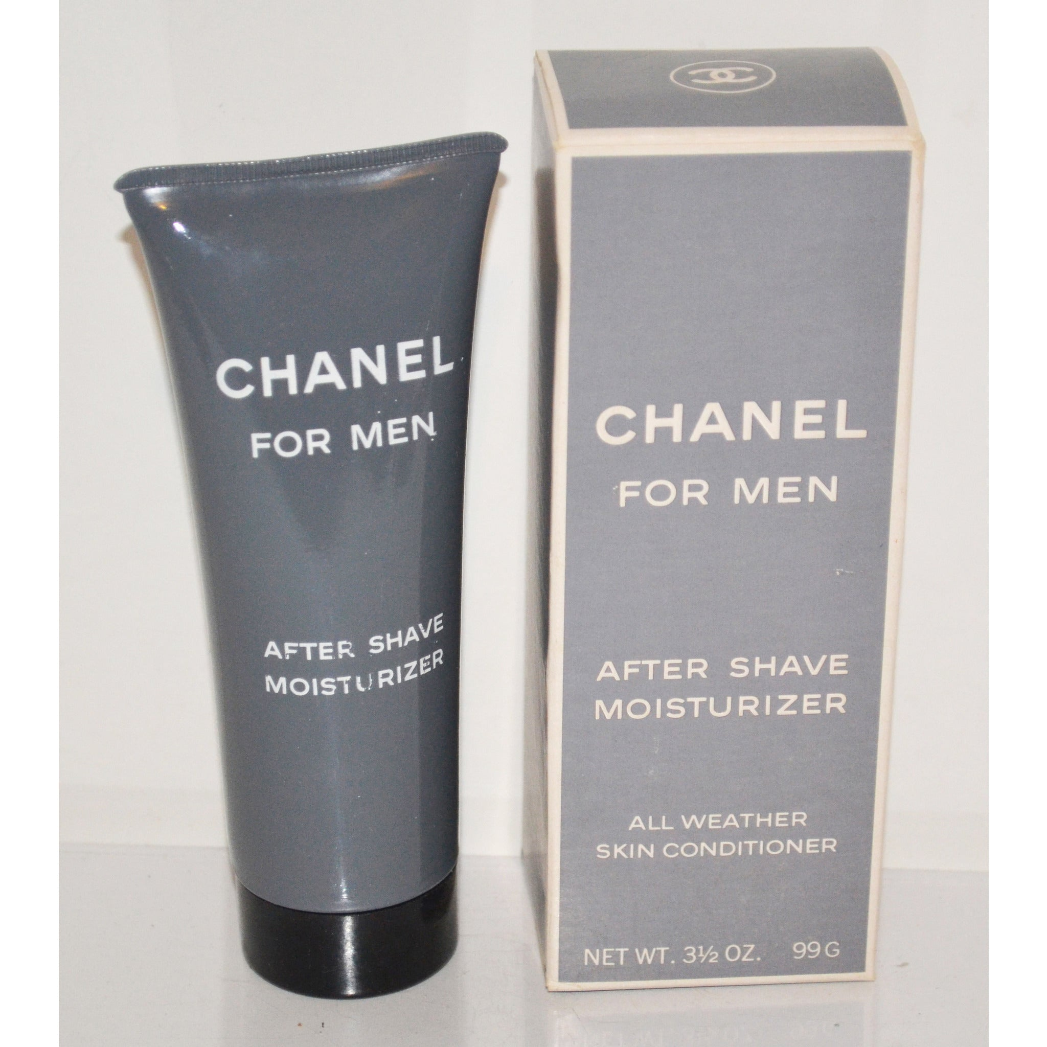 Vintage Chanel For Men After Shave Moisturizer