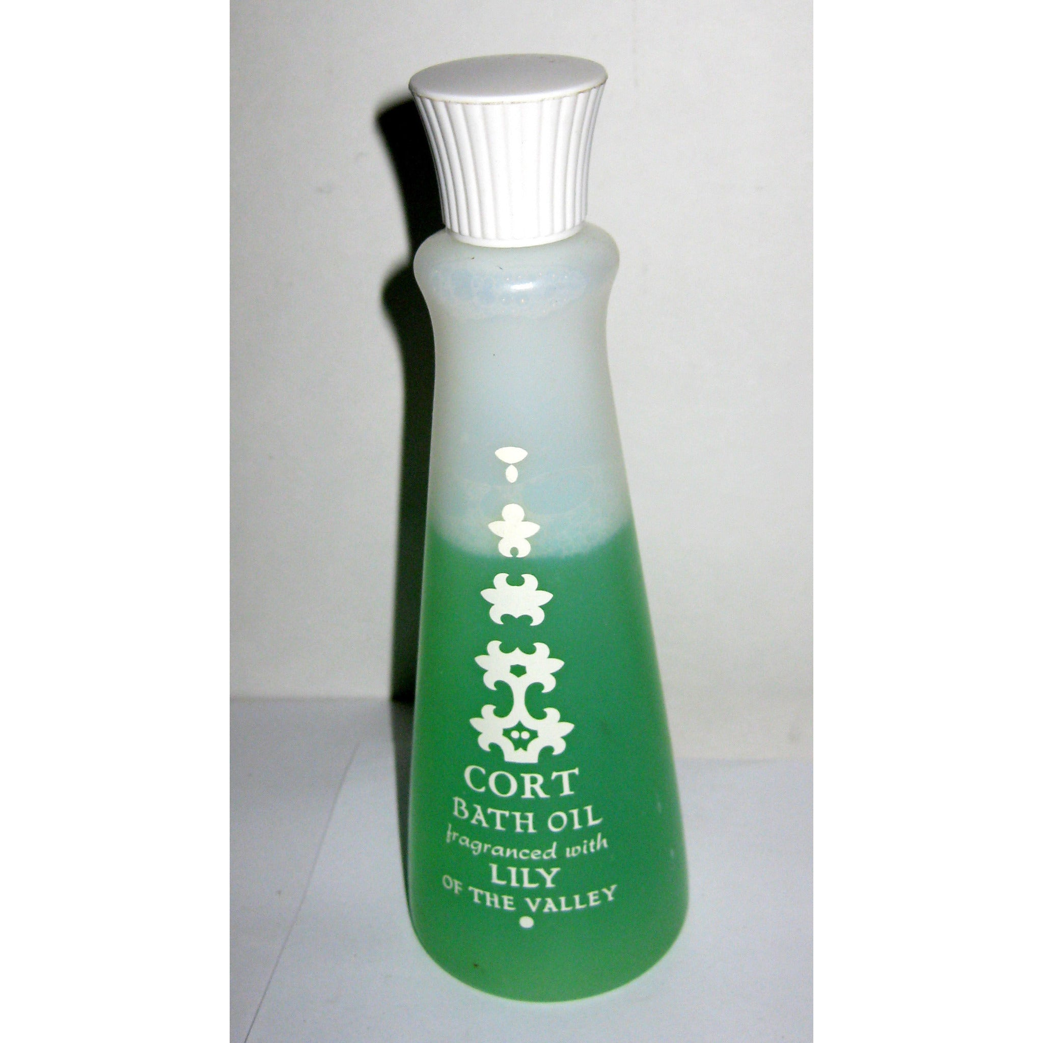 Vintage Lily Of The Valley Bath Oil By Cort