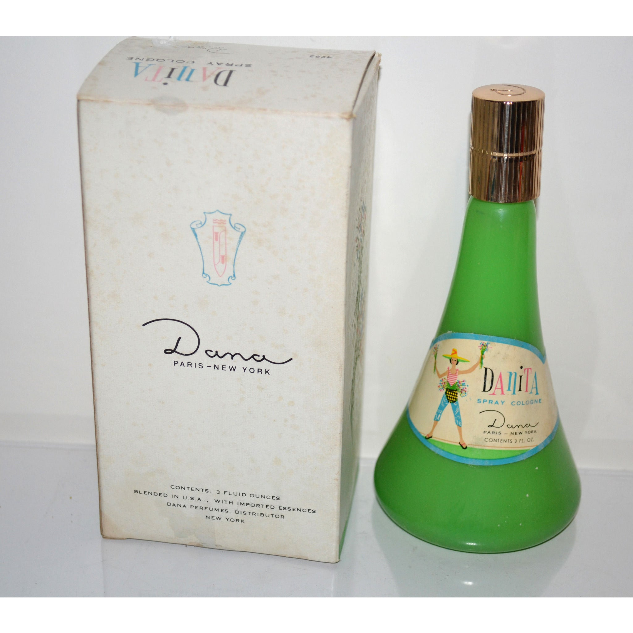 Vintage Danita Cologne By Dana
