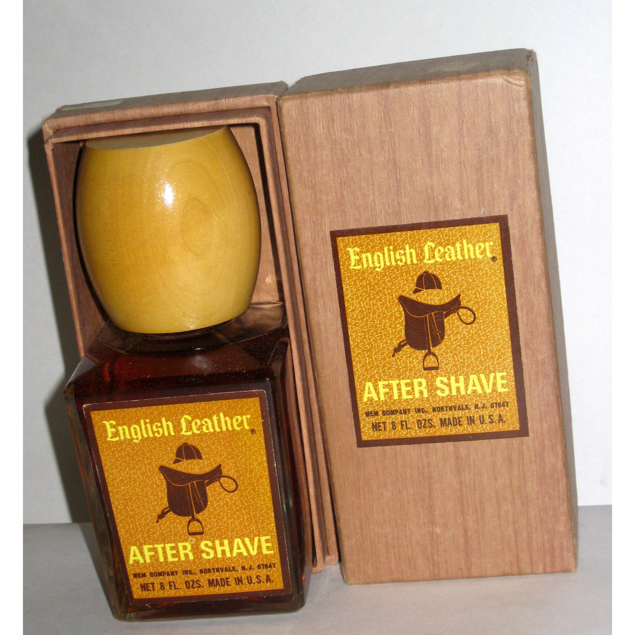 Vintage English Leather After Shave By MEM