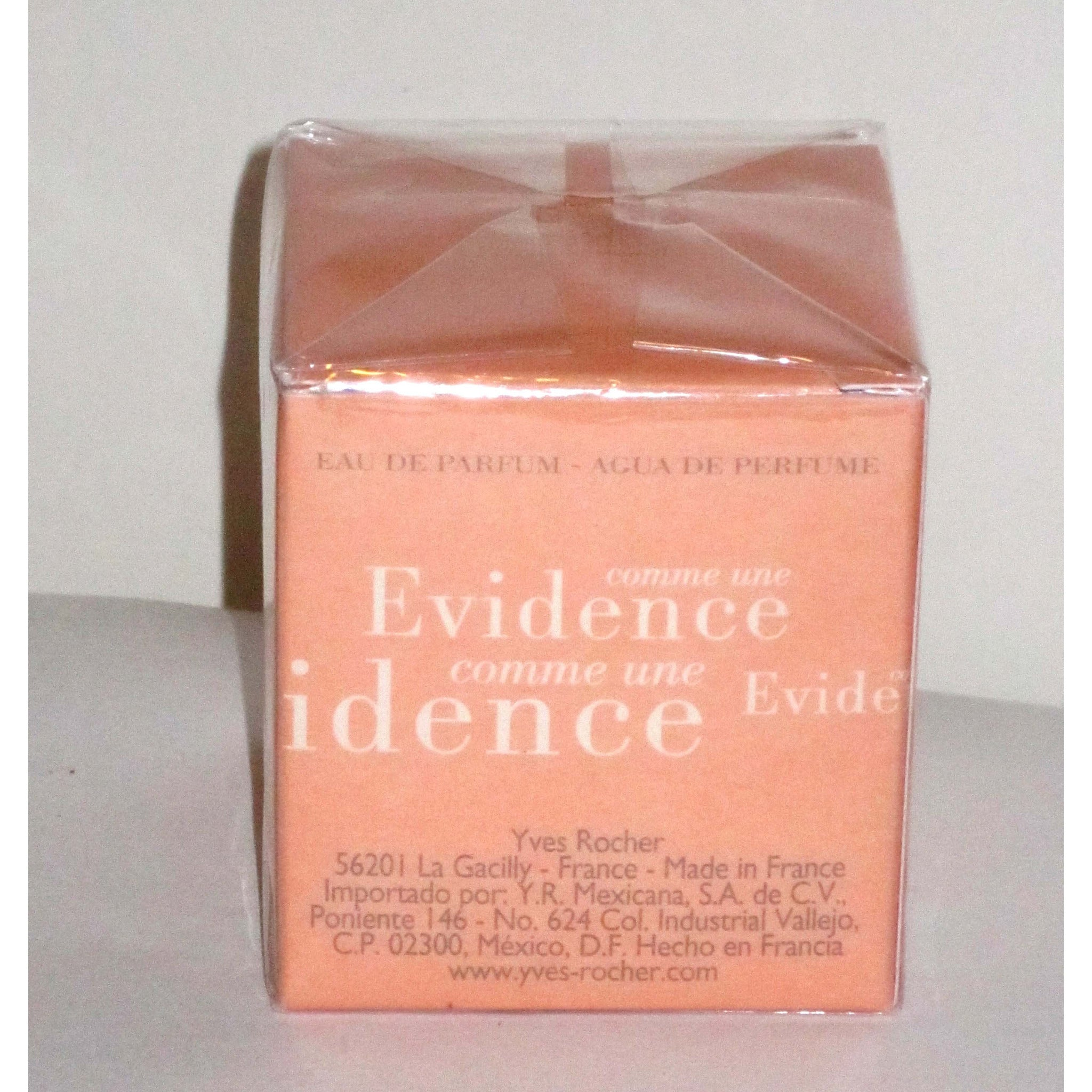Vintage Yves Rocher Comme Une Evidence