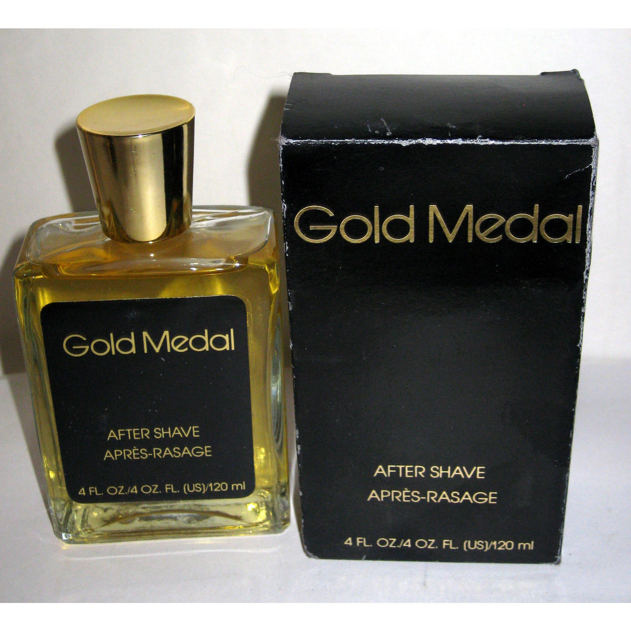 Vintage Gold Medal After Shave By Rose Marie