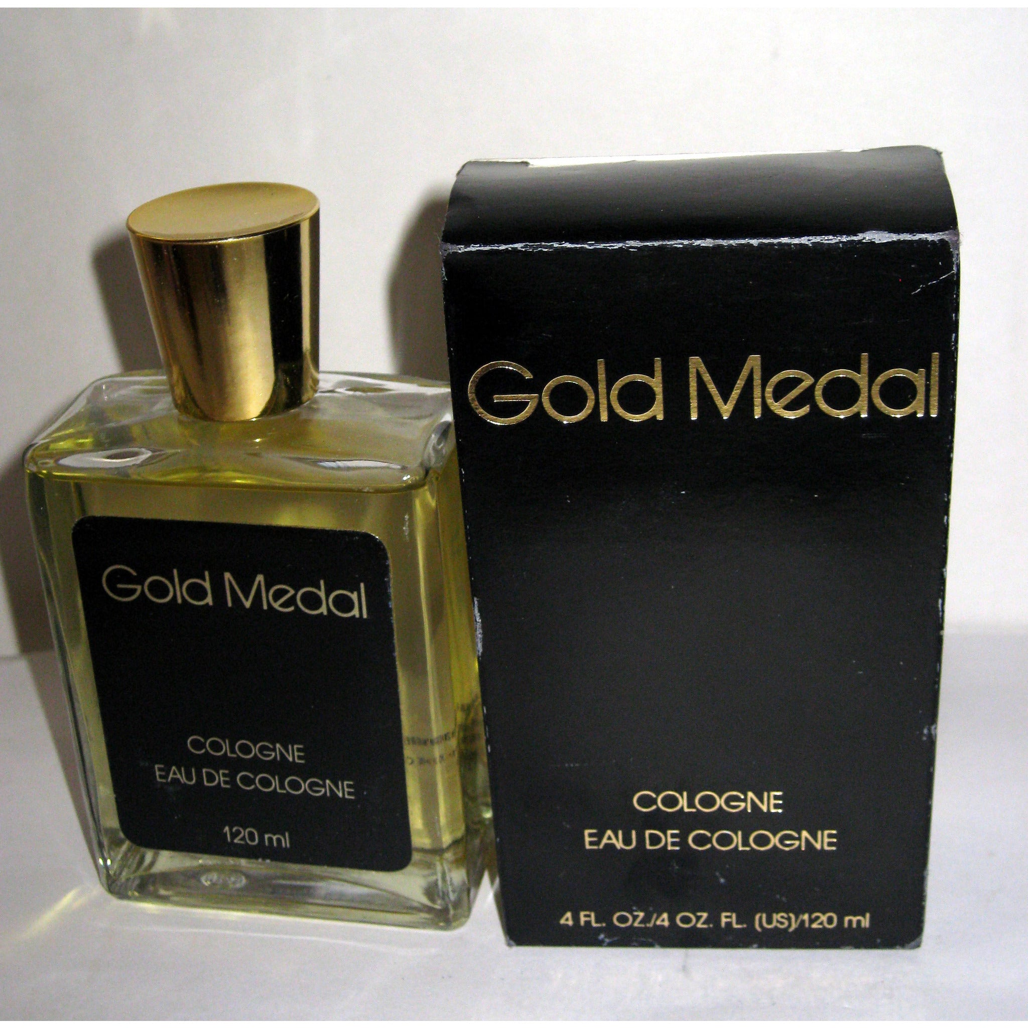 Vintage Gold Medal Cologne By Rose Marie
