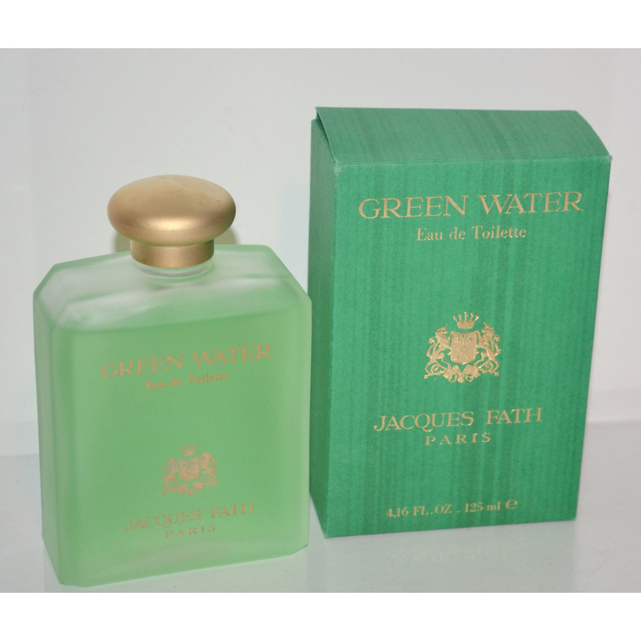 Vintage Green Water Eau De Toilette By Jacques Fath
