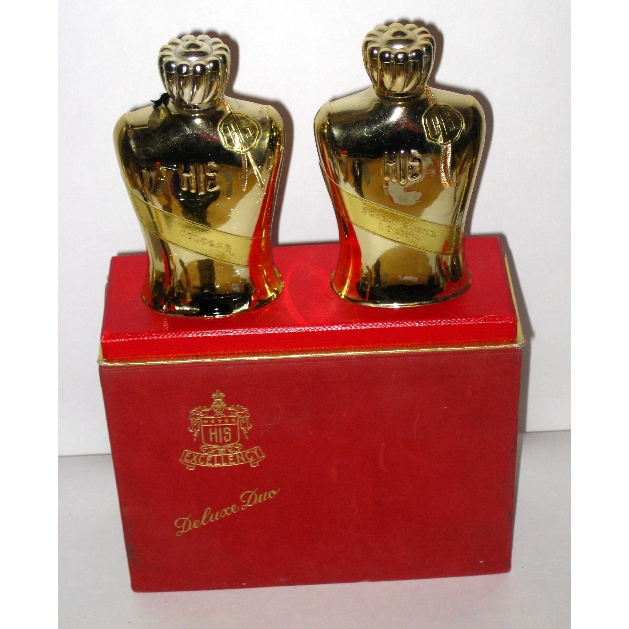 Vintage HIS Excellency Cologne & Aftershave Duo