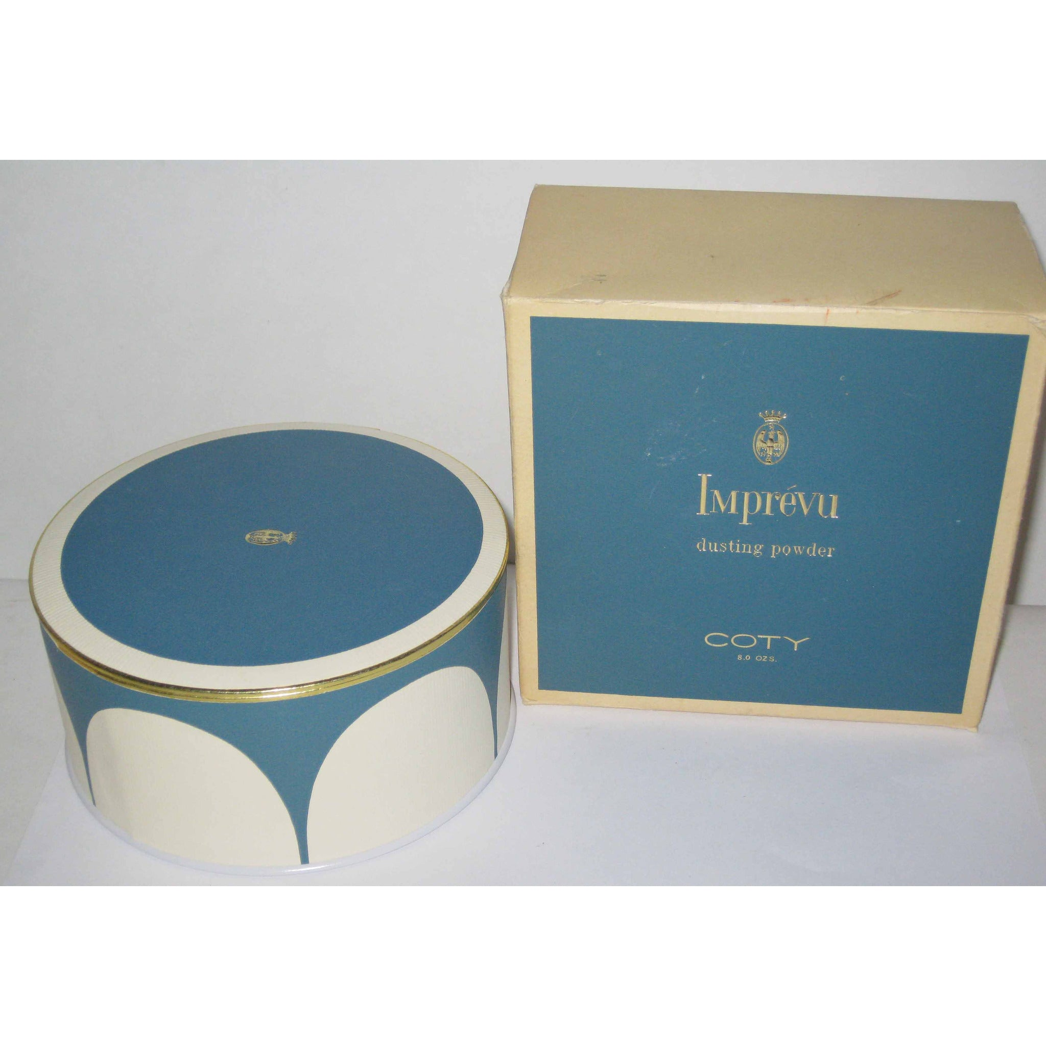 Vintage Imprevu Dusting Powder By Coty