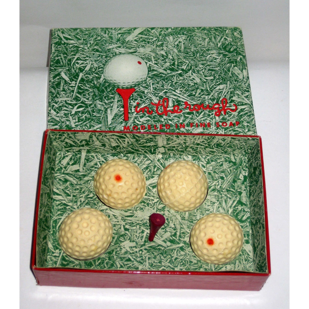 In The Rough Golf Tee Soap Set By Mem