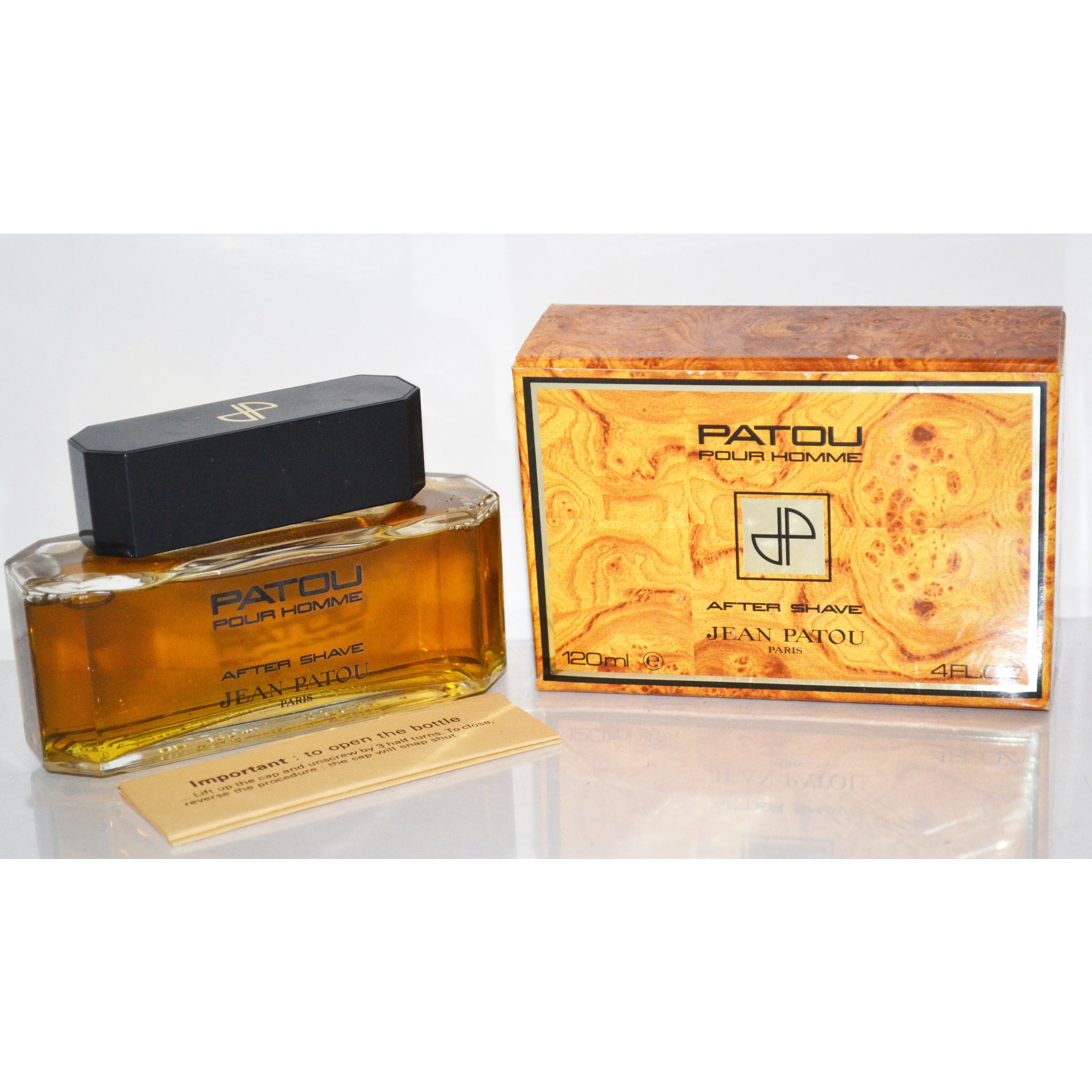 Vintage Patou Pour Homme After Shave By Jean Patou