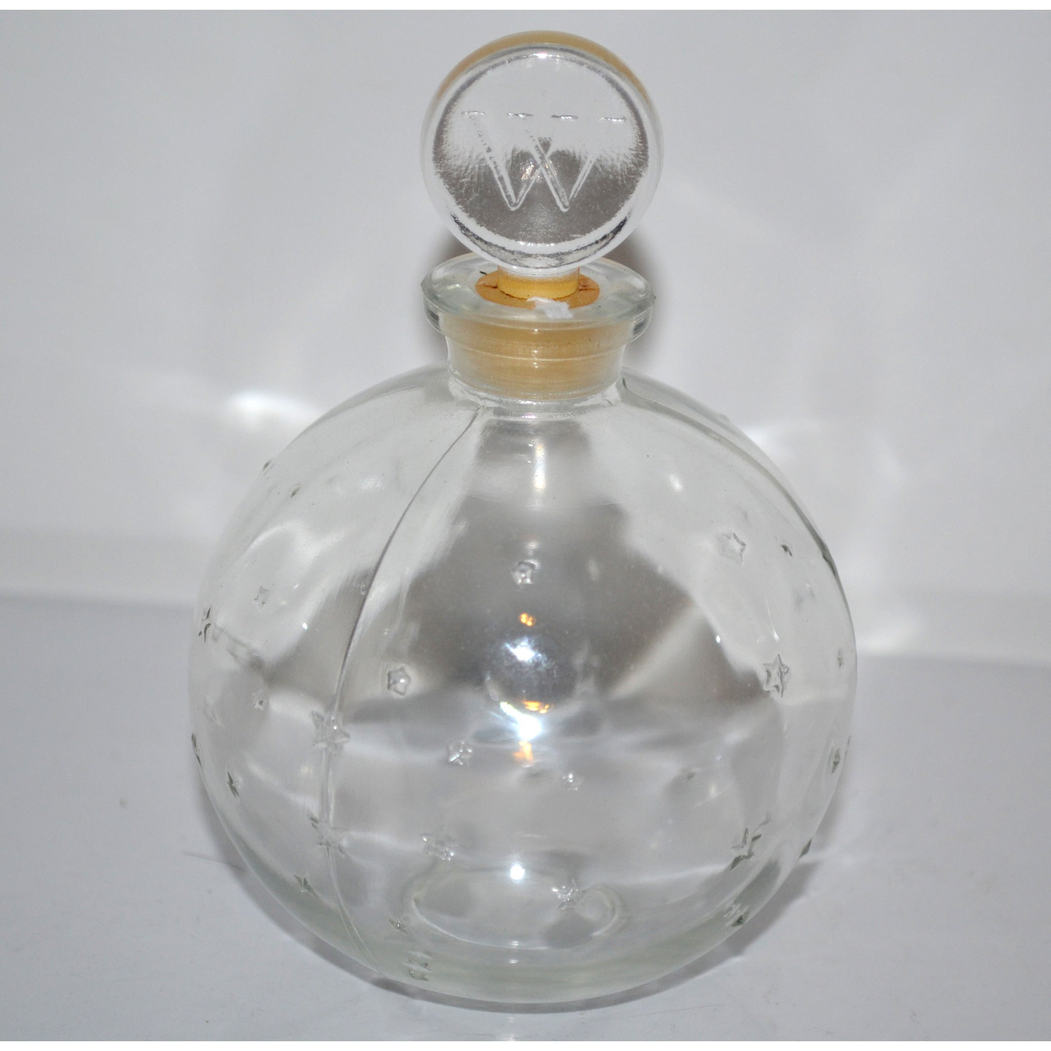 Vintage Je Reviens Lalique Stars Bottle By Worth