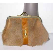 Vintage Kangaroo Fur Coin Purse