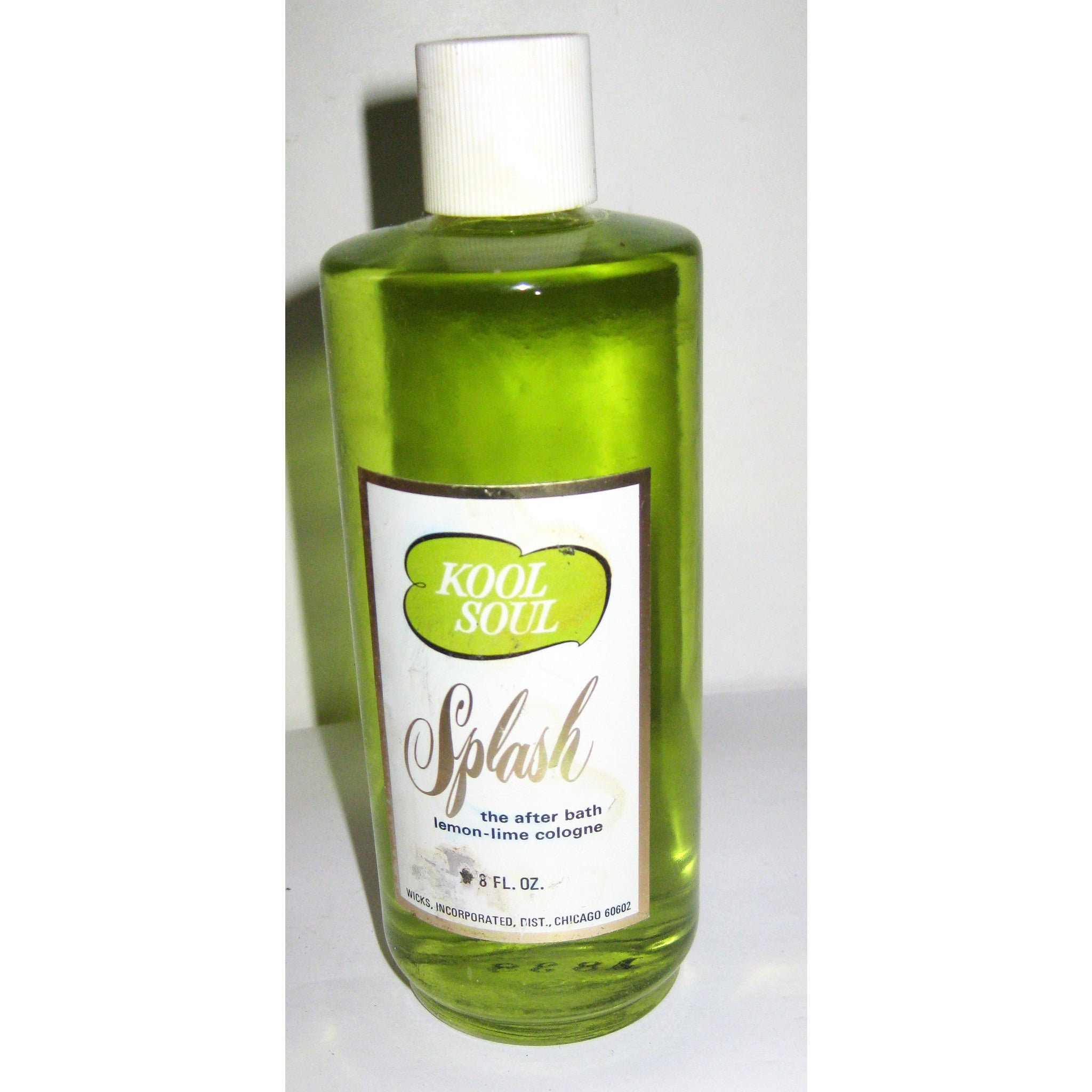 Vintage Kool Soul Lemon-Lime Cologne