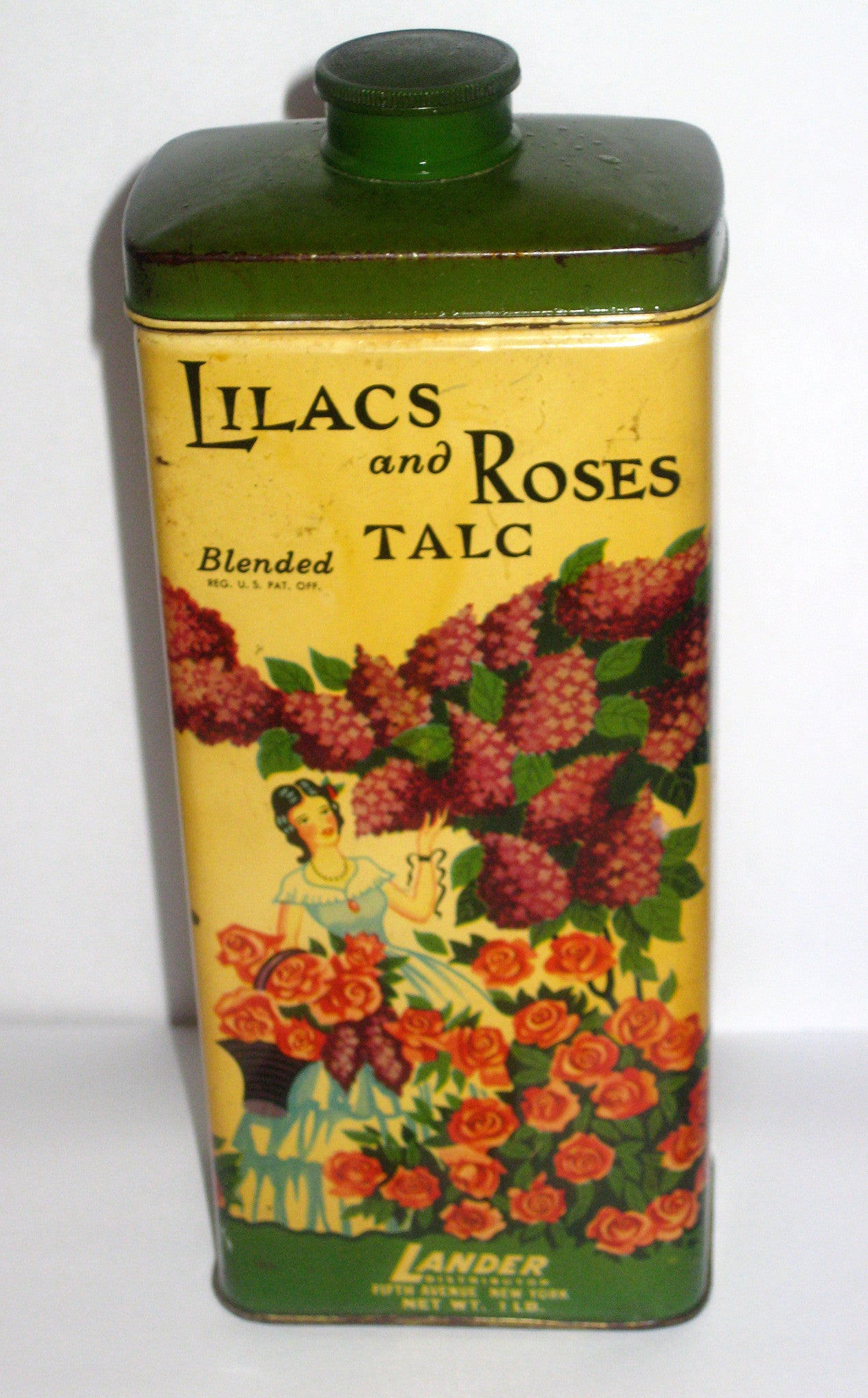 Landers Lilacs And Roses Talc