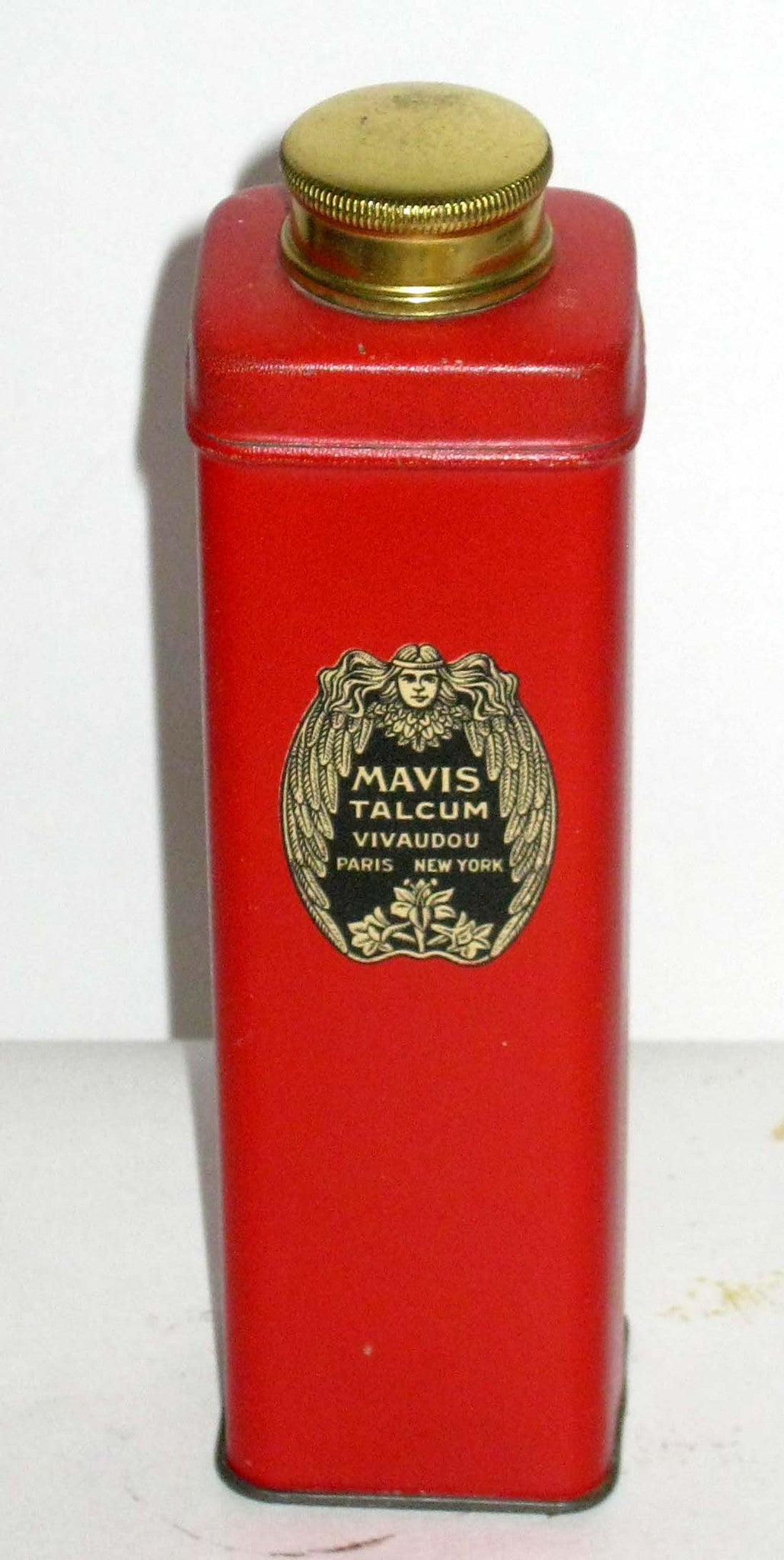 Vivaudou Mavis Talcum Powder Tin