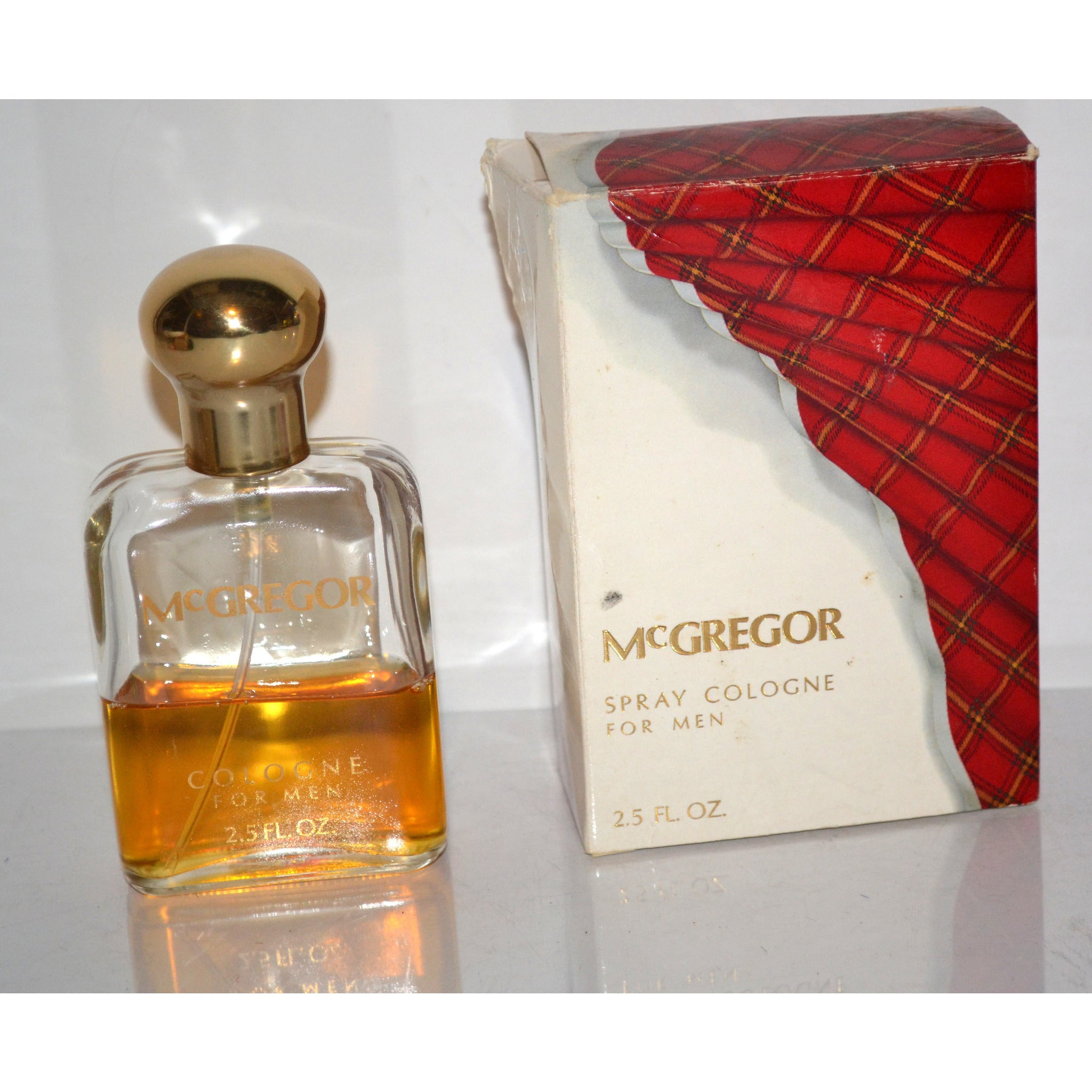 Vintage McGregor Cologne By Faberge