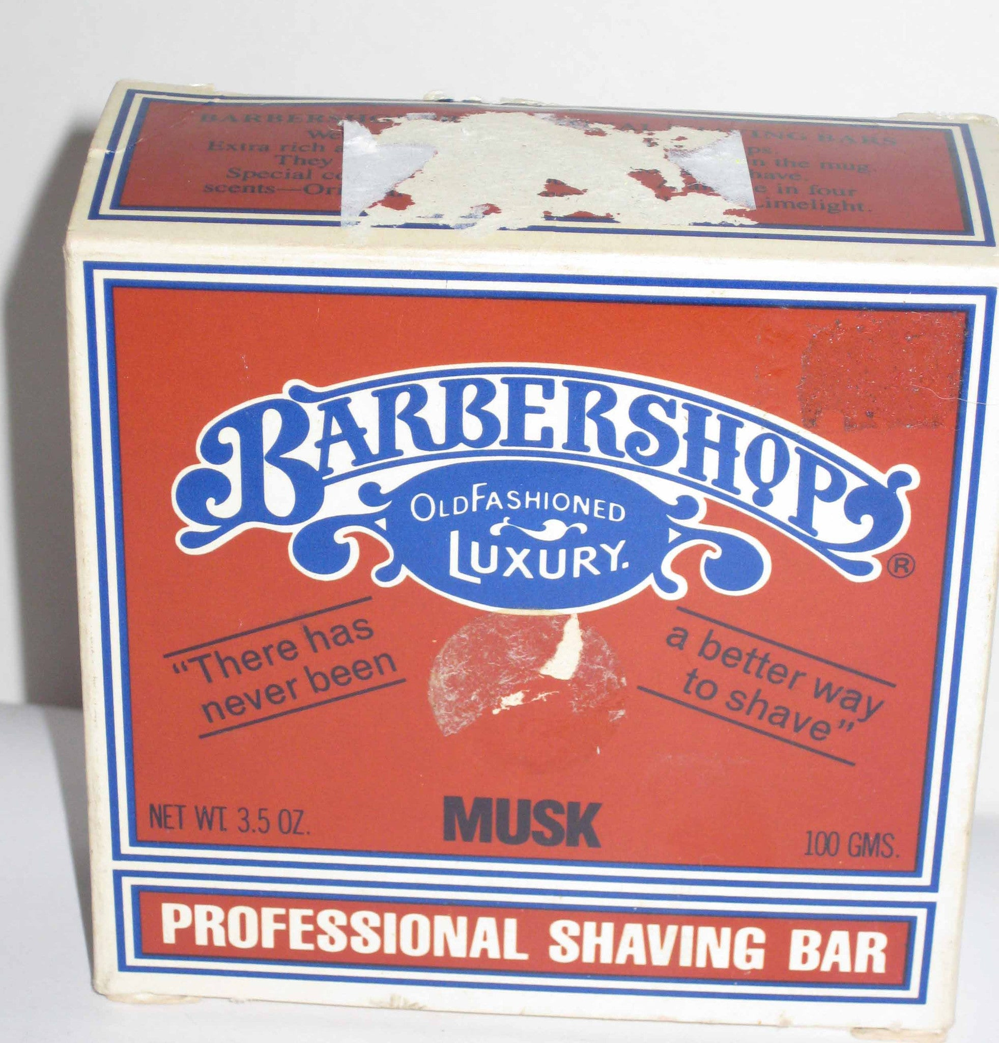 Barbershop Old Fashioned Luxury Musk Professional Soap
