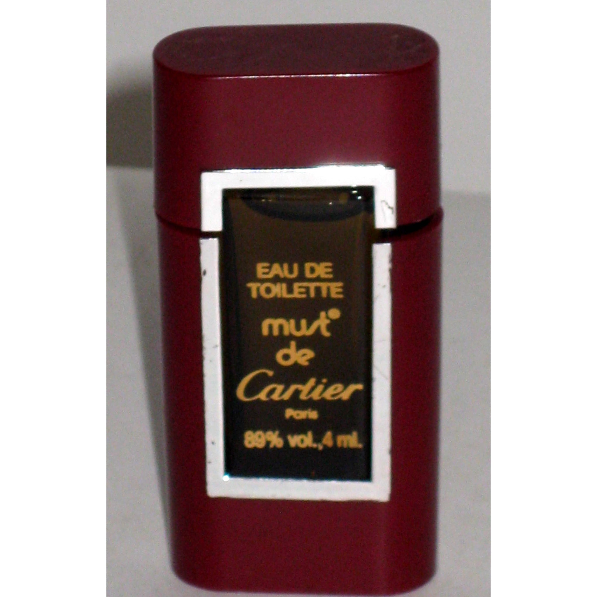 Vintage Must de Cartier Eau De Toilette By Cartier