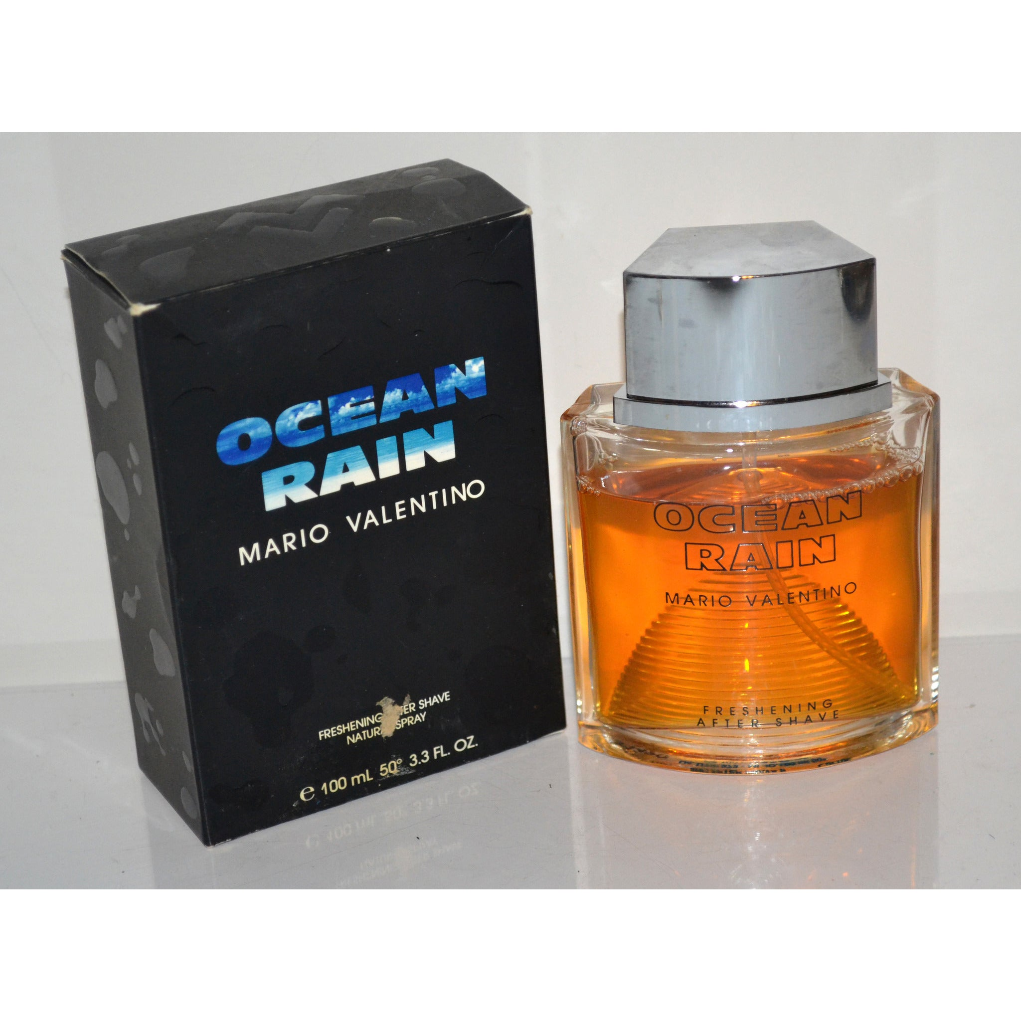 Vintage Ocean Rain After Shave By Mario Valentino