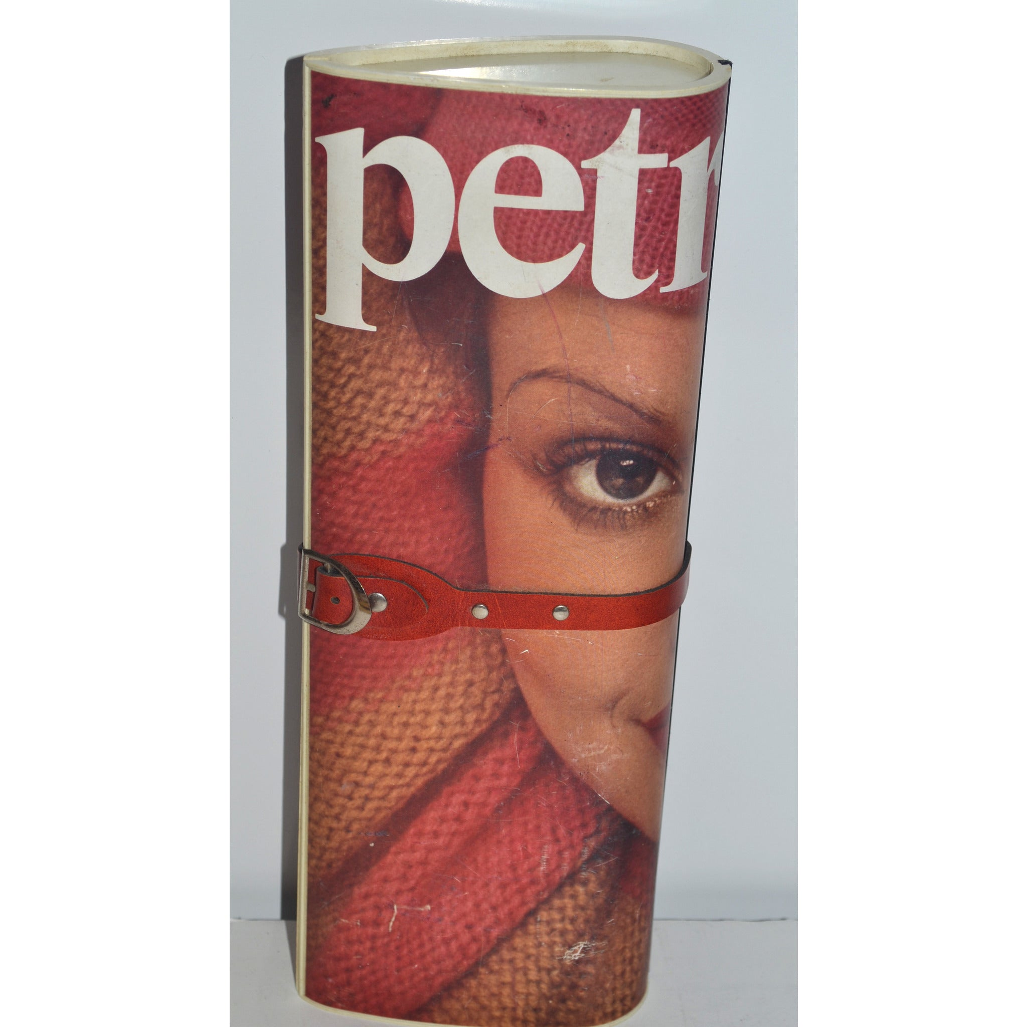 Vintage Petra Magazine Clutch Purse