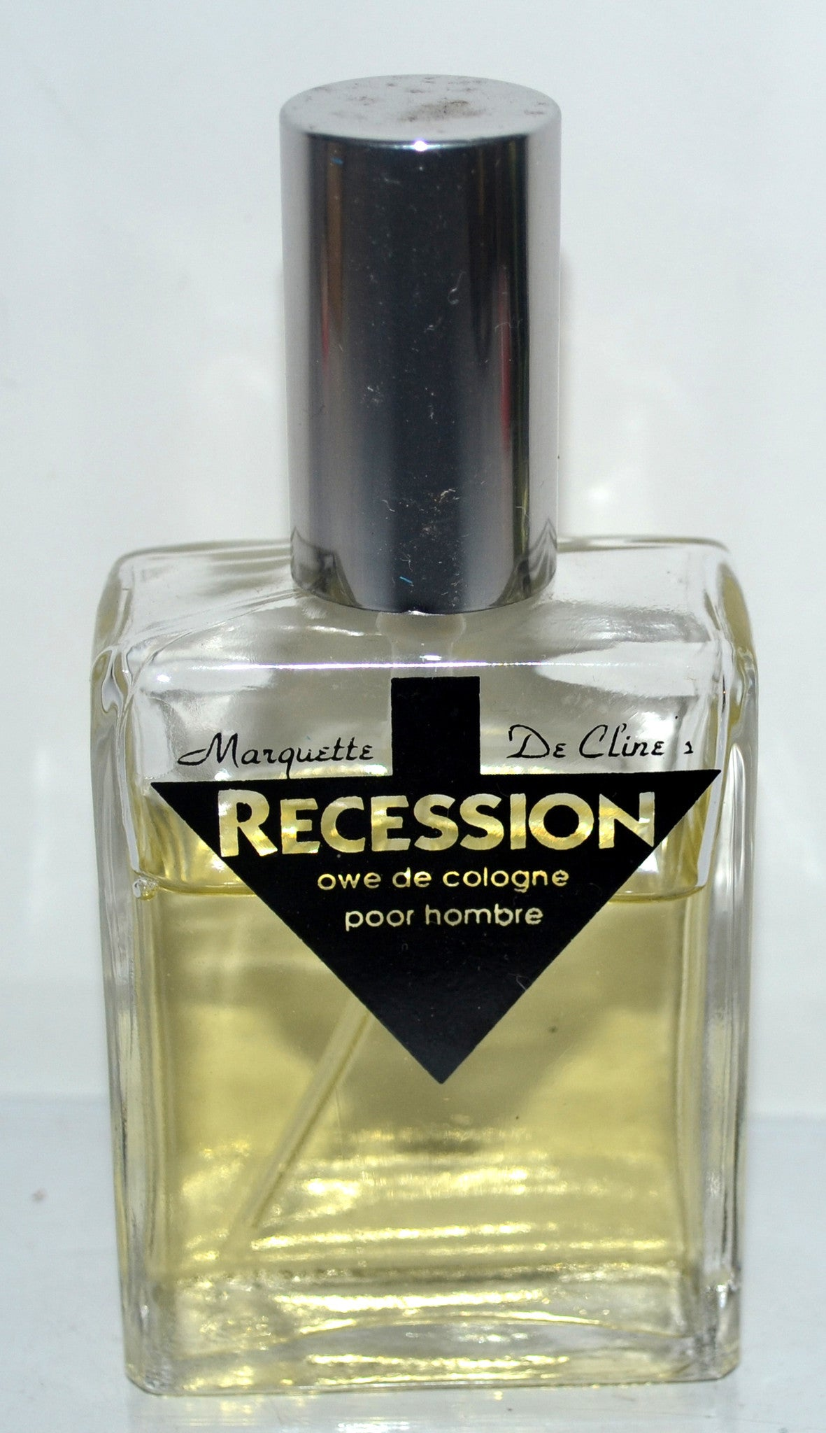 Recession Cologne By Marquette De Cline
