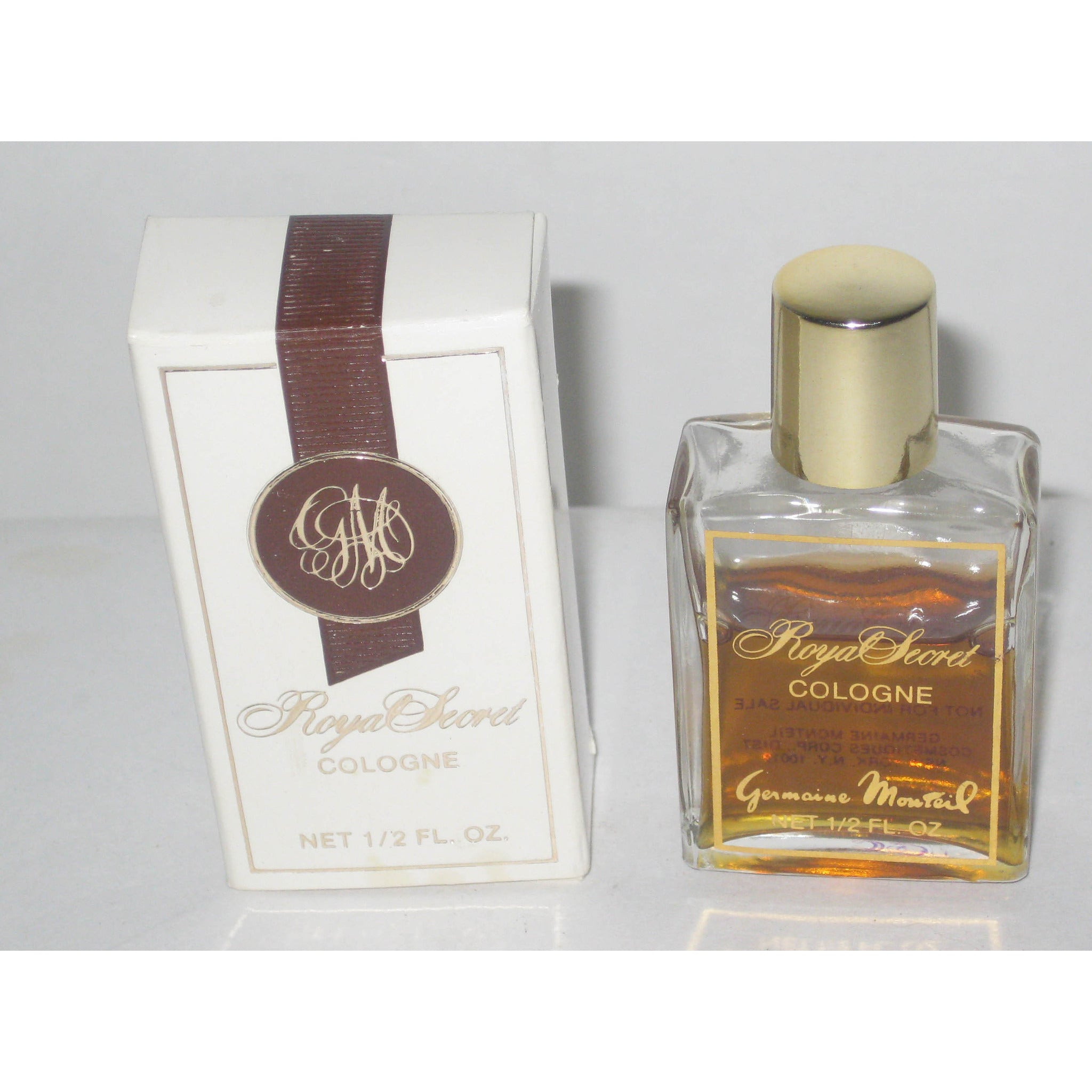 Vintage Germaine Monteil Royal Secret Cologne