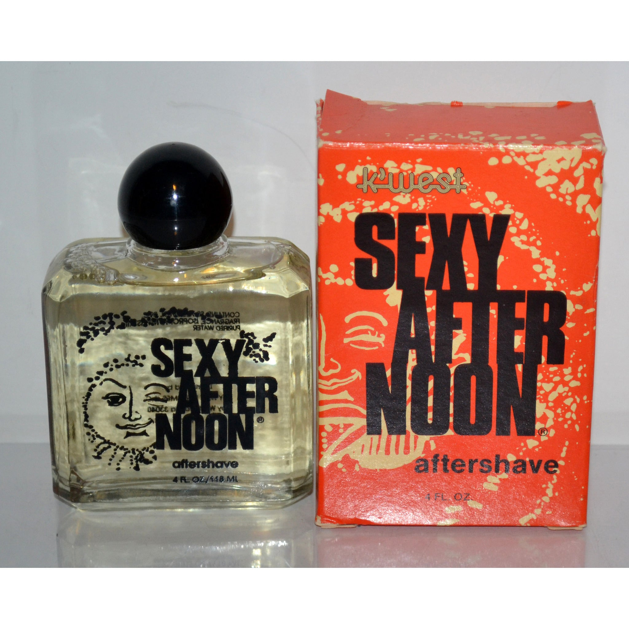 Vintage Sexy Afternoon After Shave By K West