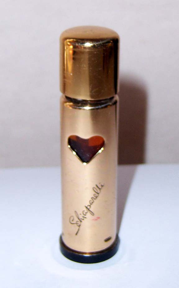 Schiaparelli Shocking Metal Purse Perfume Decantar