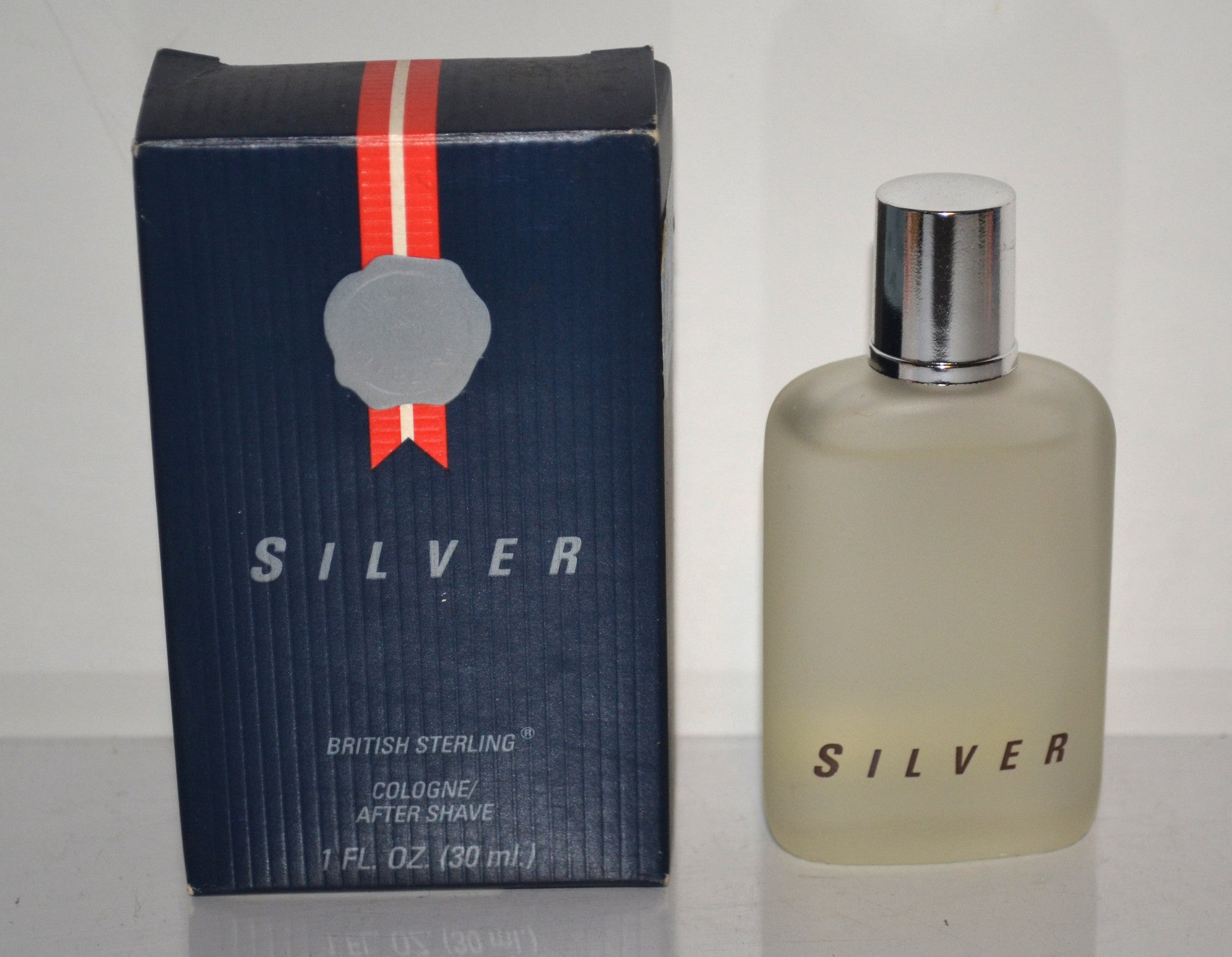 British Sterling Silver Cologne