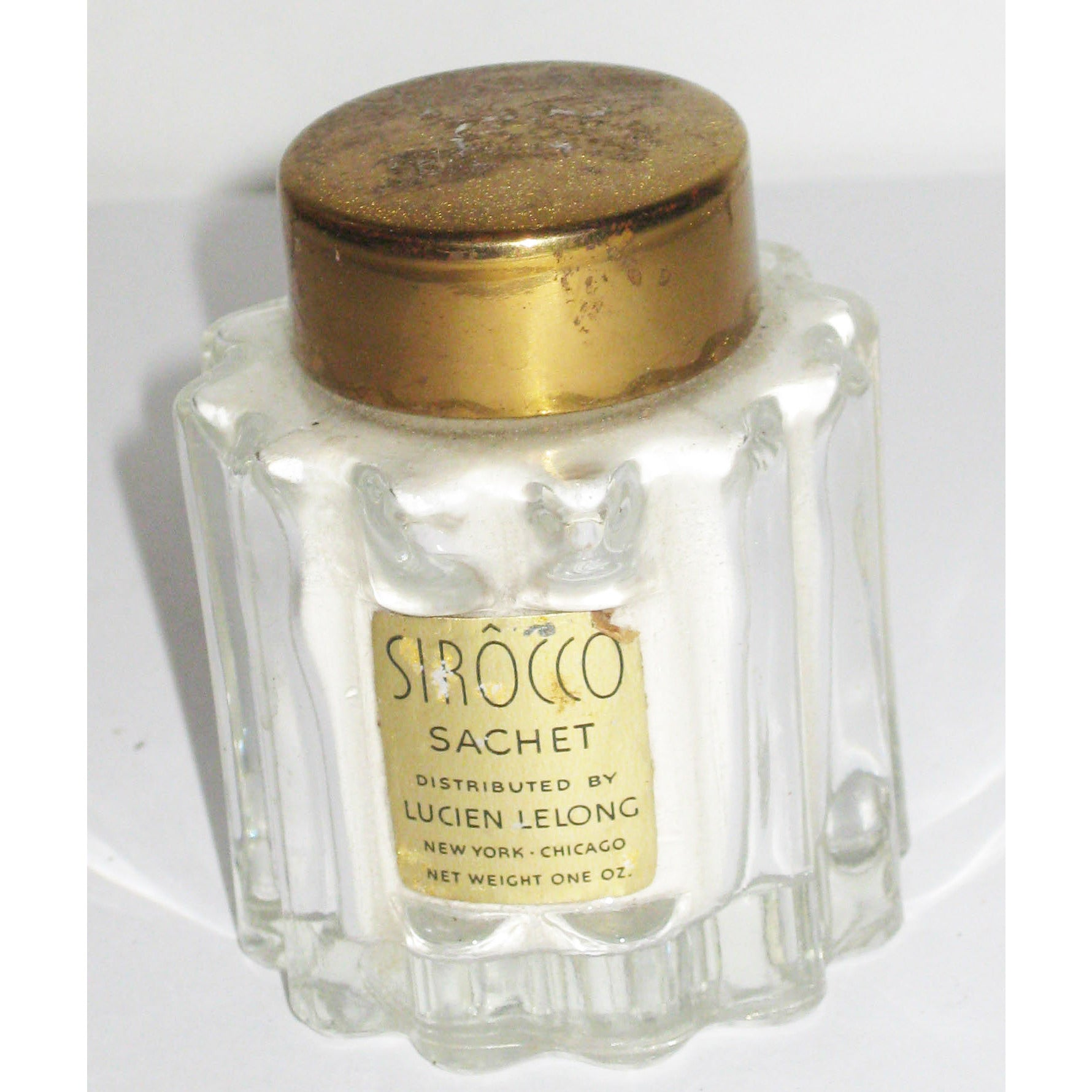 Vintage Sirocco Powder Sachet By Lucien Lelong