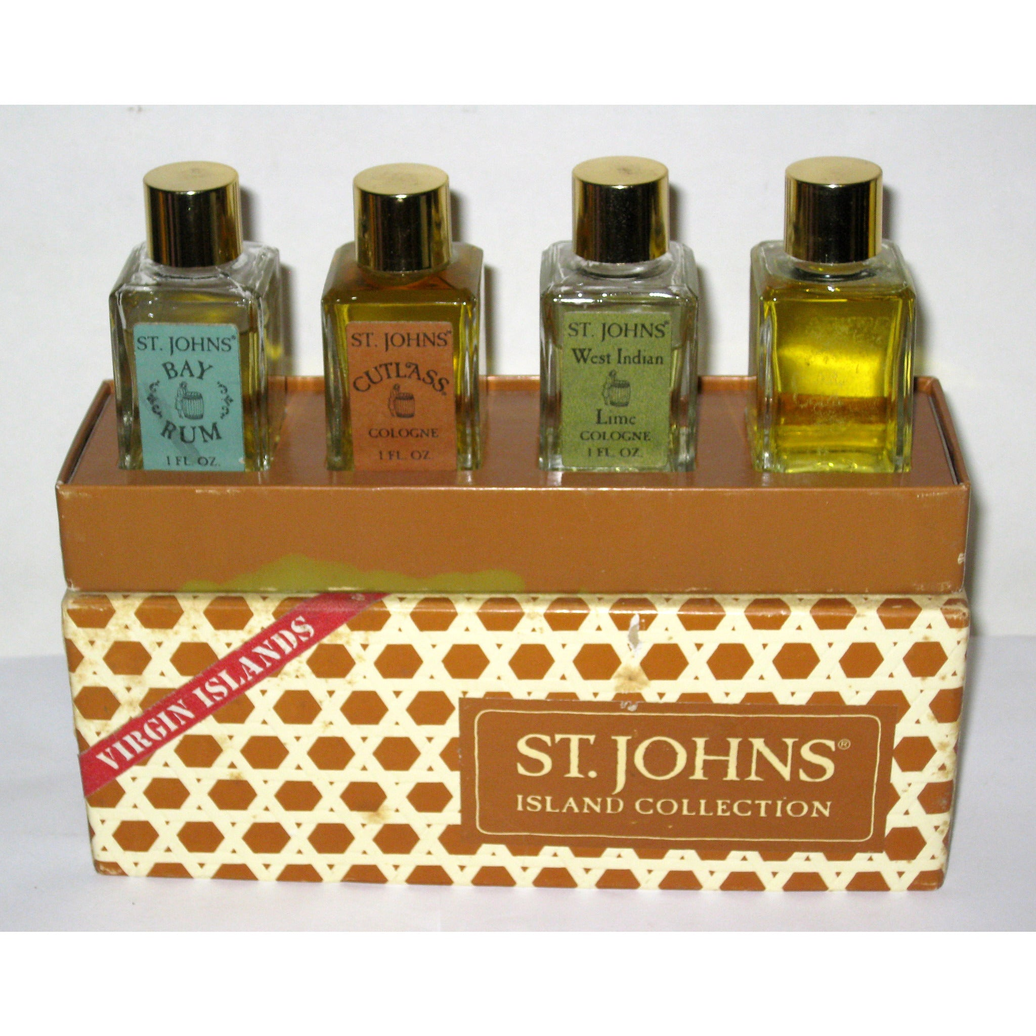 Vintage St. Johns Island Collection Cologne Set