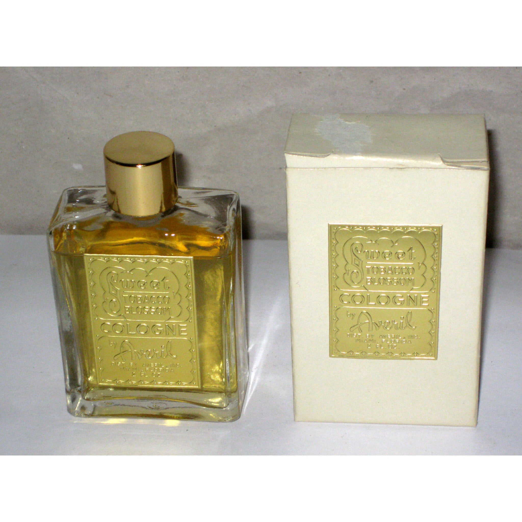 Vintage Averil Sweet Tobacco Blossom Cologne