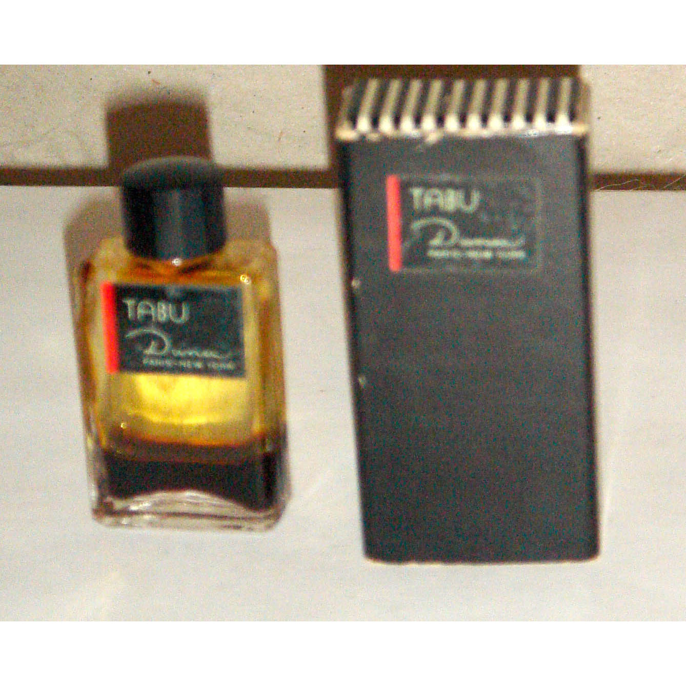Vintage Tabu Perfume Mini By Dana