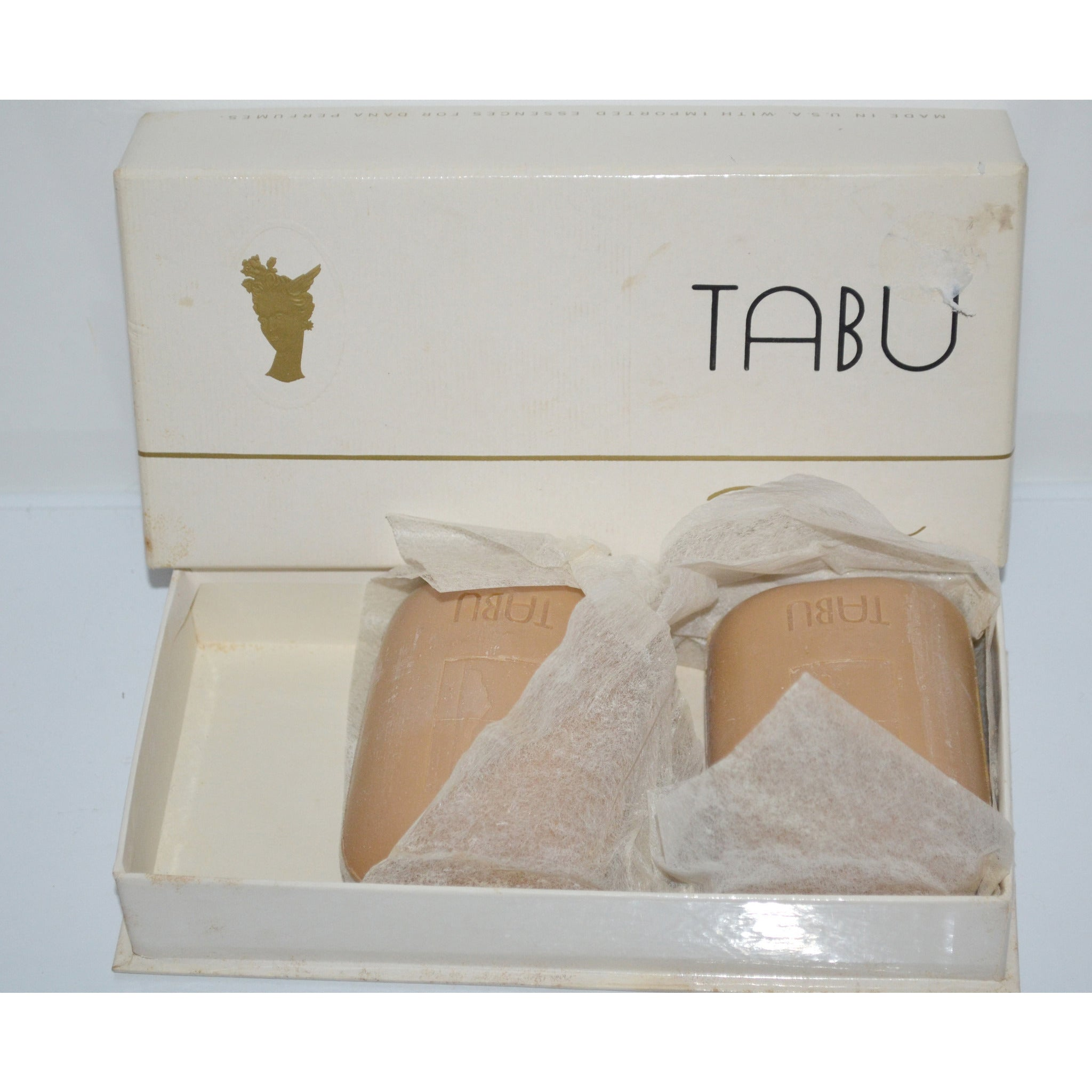Vintage Tabu Cake Soap By Dana