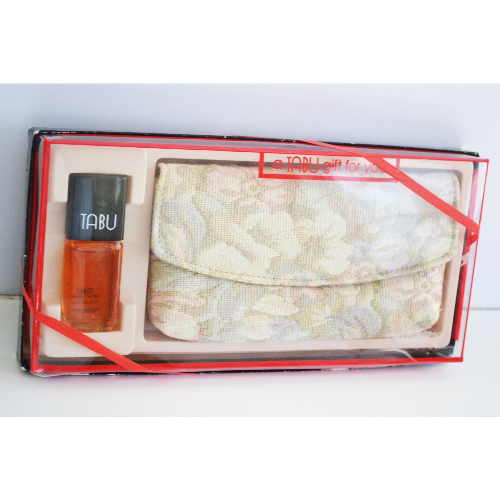 Vintage Tabu Cologne & Wallet Set By Dana