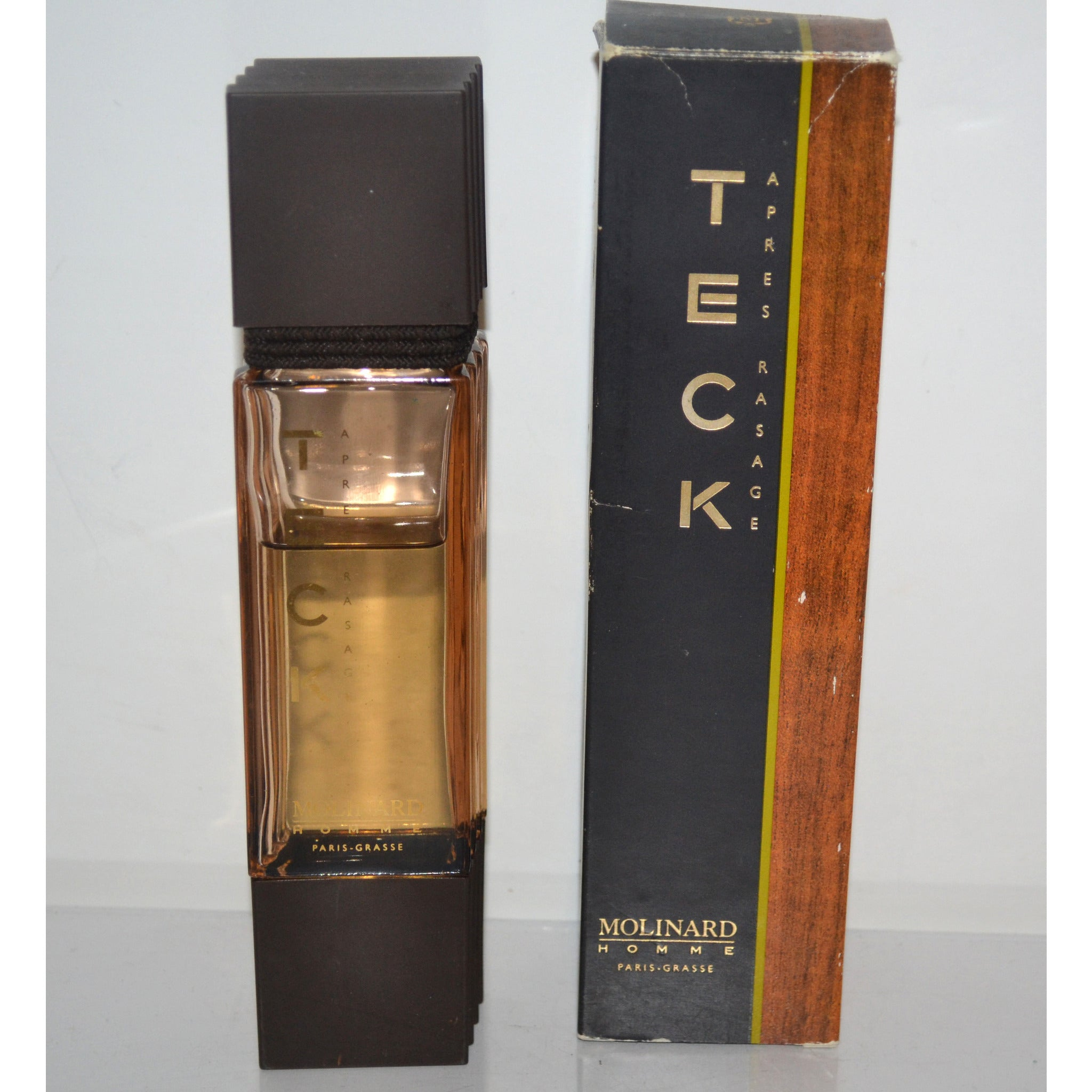 Vintage Teck After Shave By Molinard