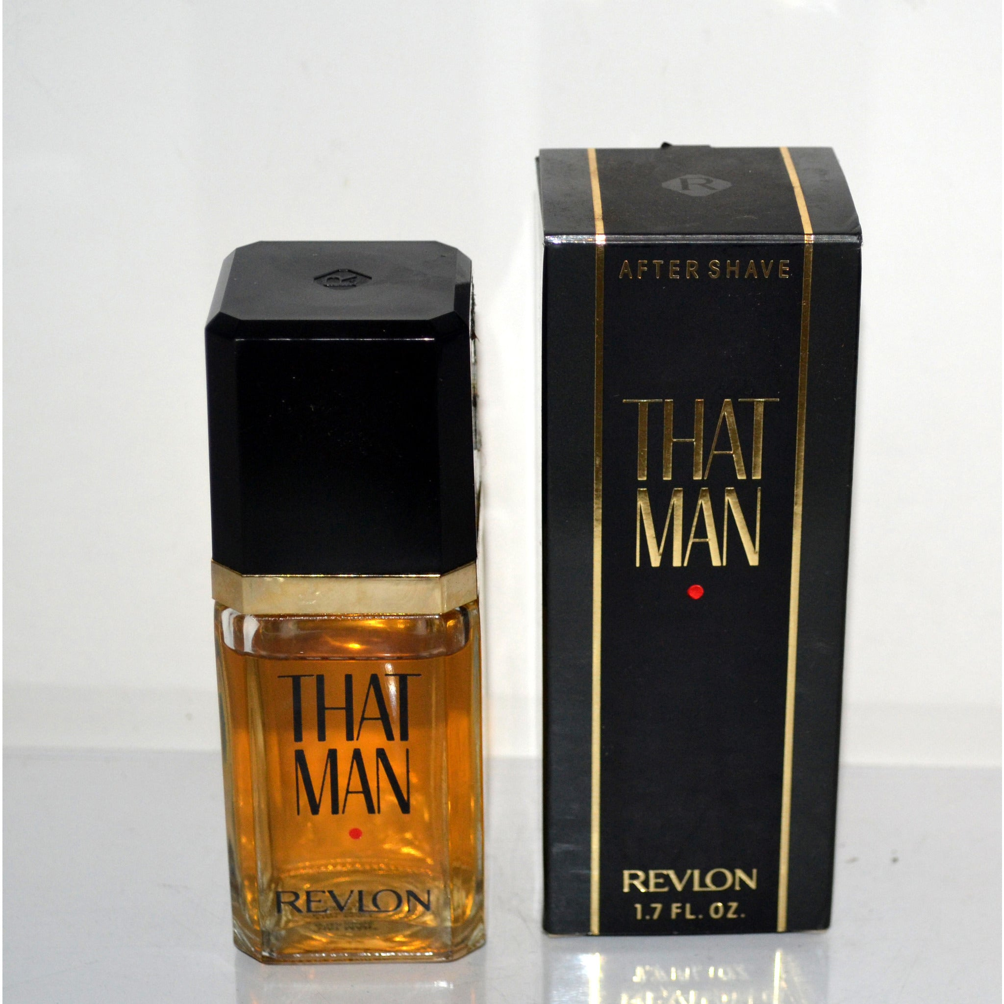 Vintage That Man After Shave By Revlon