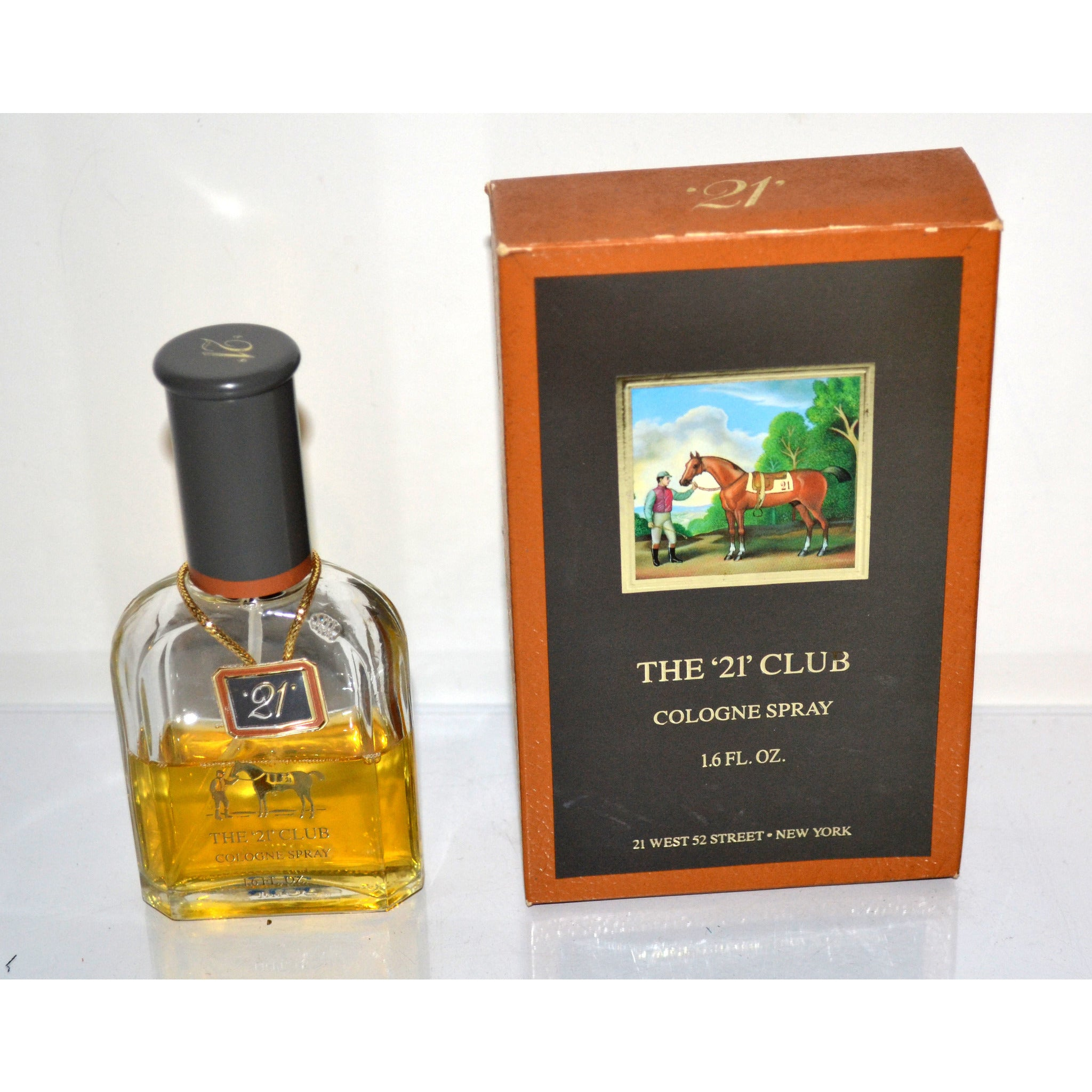 Vintage The '21' Club Cologne By Colonia