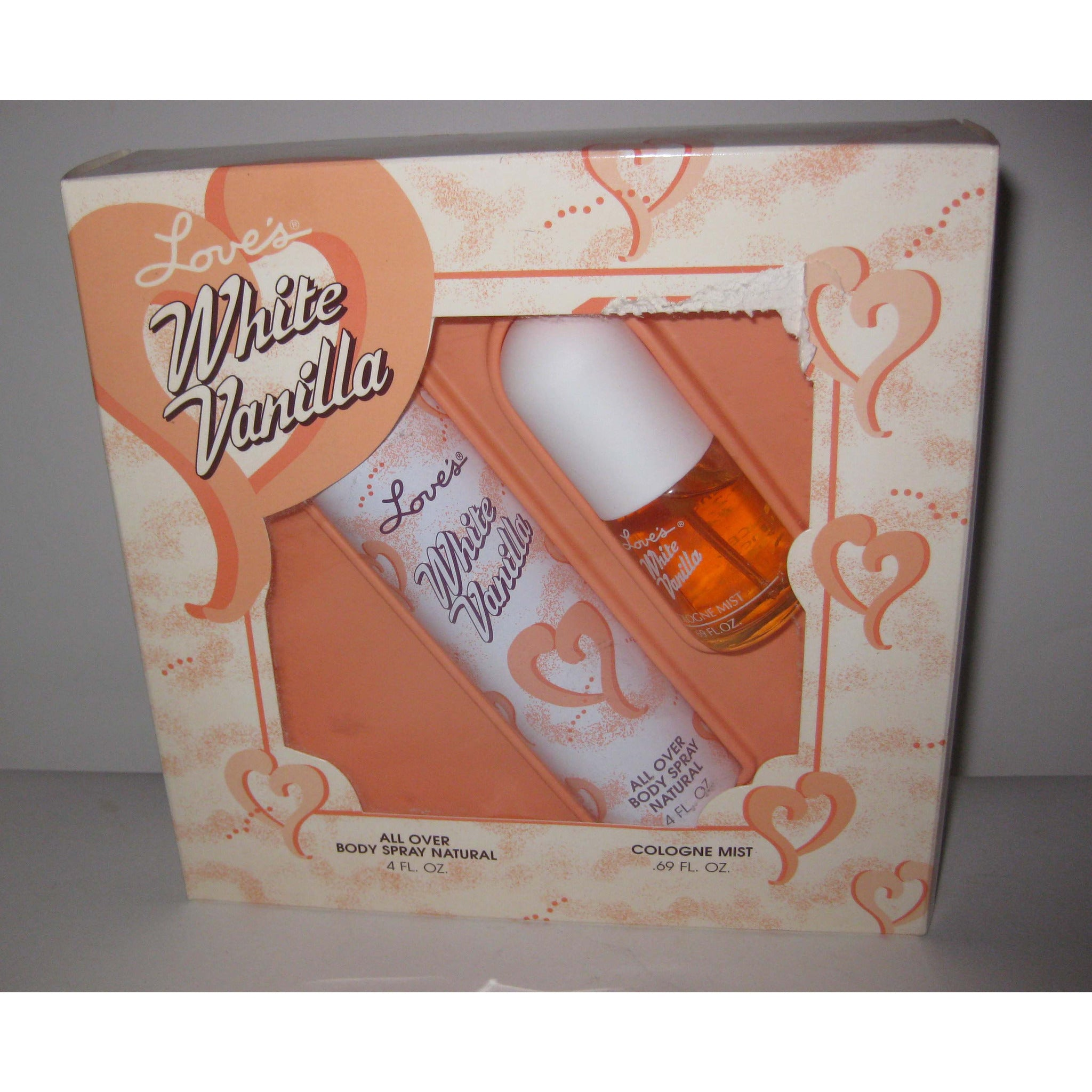 Vintage Love's White Vanilla Fragrance Set By MEM
