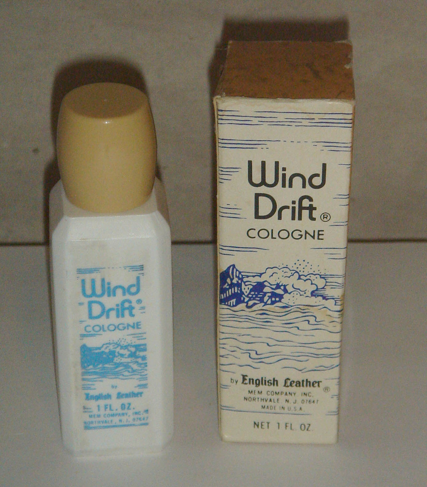 Wind Drift Cologne By English Leather-MEM
