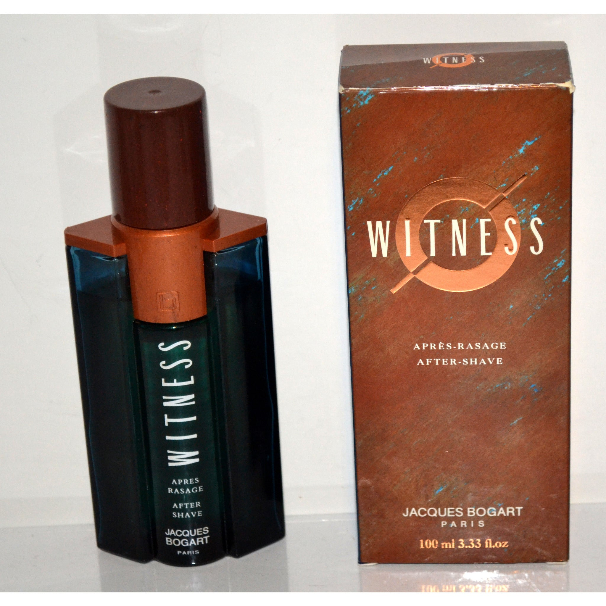 Vintage Witness After Shave By Jacques Bogart