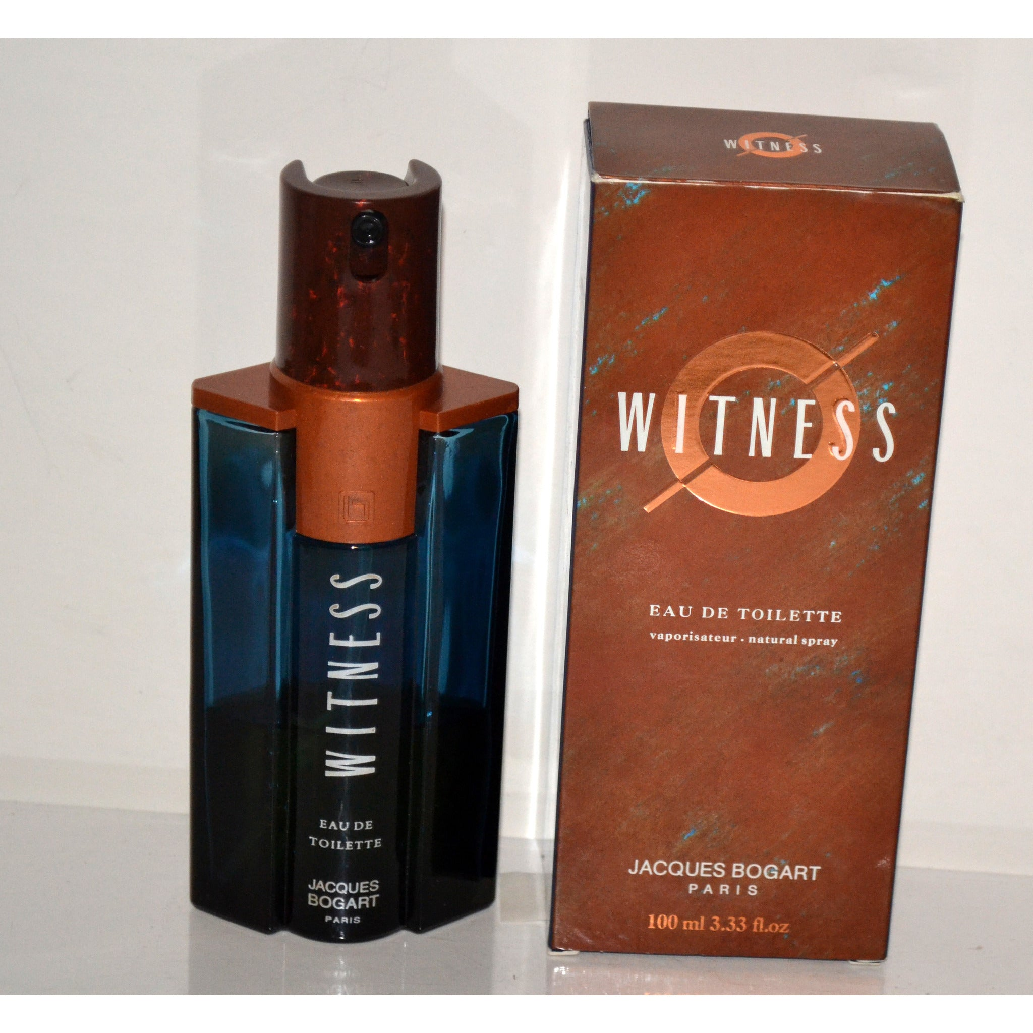 Vintage Witness Eau De Toilette By Jacques Bogart