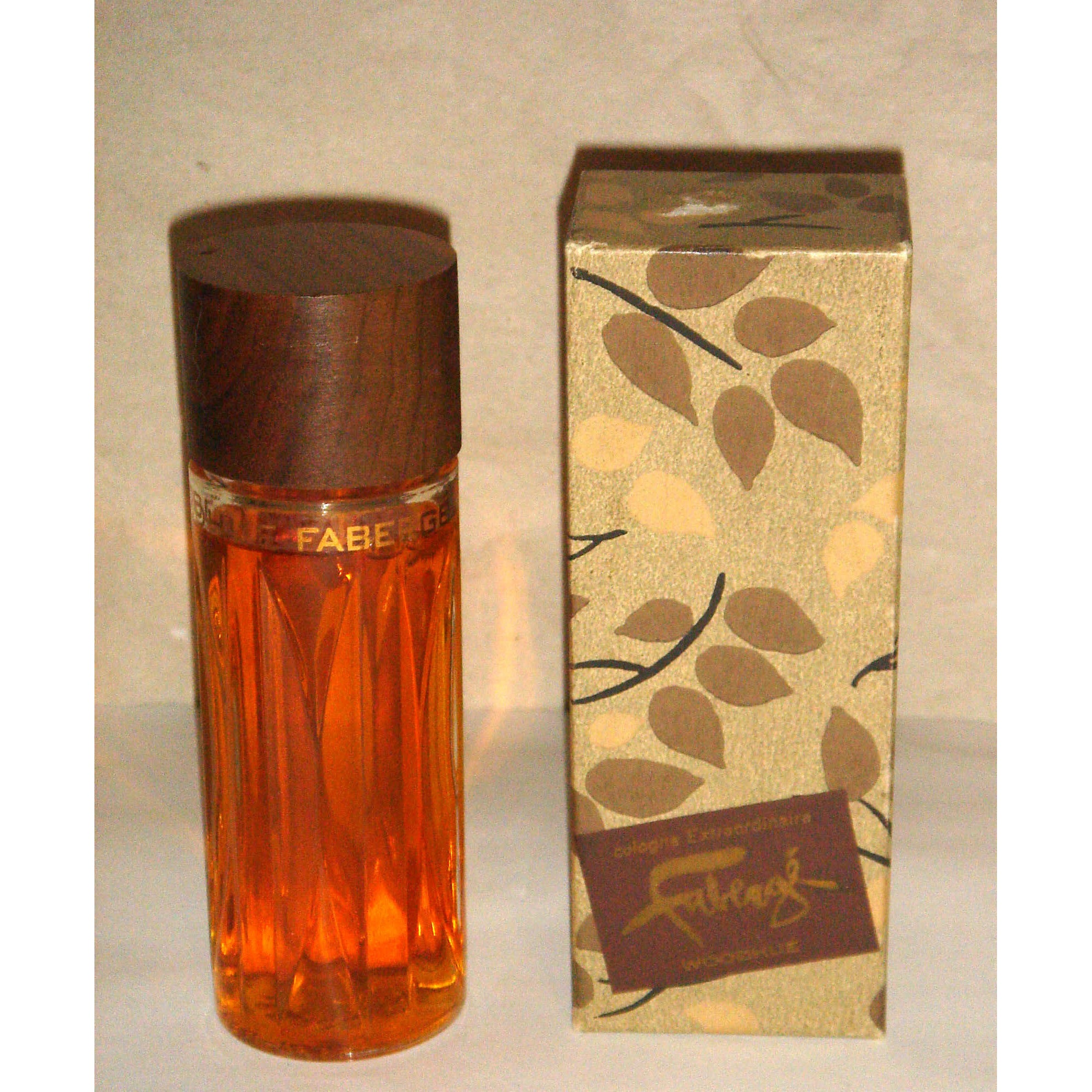 Vintage Faberge Woodhue Cologne