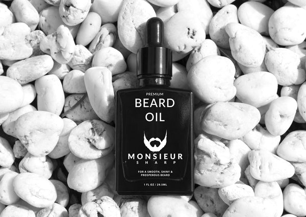 Summer Solstice Premium Beard Oil - Monsieur Sharp