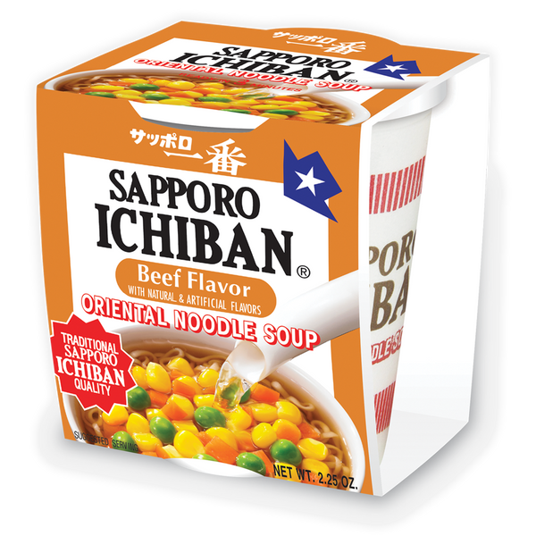 Sapporo Ichiban Cup Beef | USA