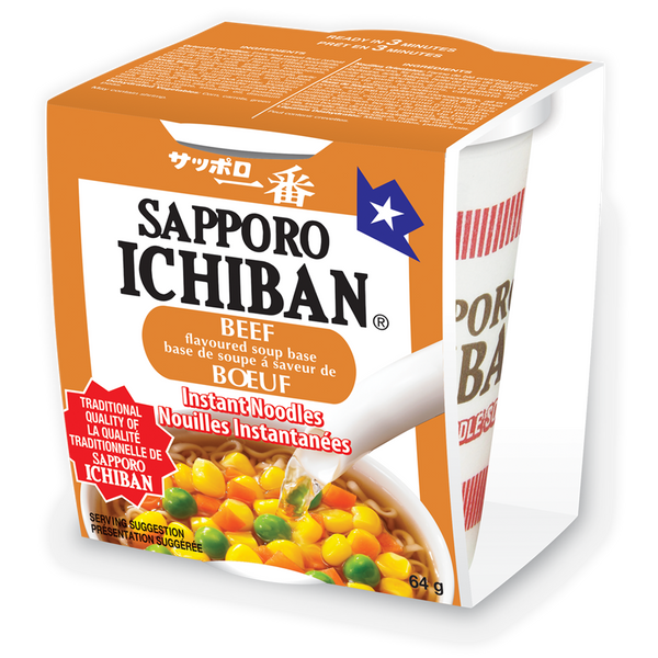 Sapporo Ichiban Cup Beef | Canada