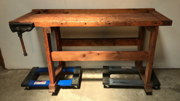 Industrial Work Bench with vise