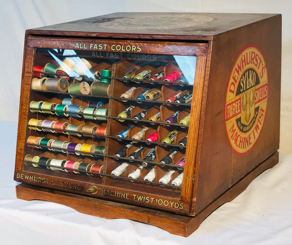 Thread Spool Cabinet by Dewhurst's