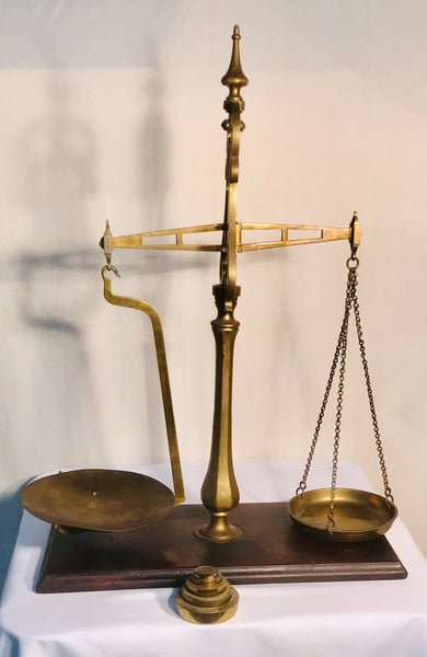 Scale - Brass Balance Scale