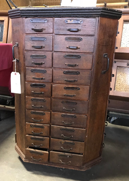 Seed Cabinet, from Country Store