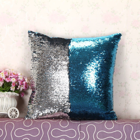 Magical Mermaid Sequin Pillow Cover - Igearitz
